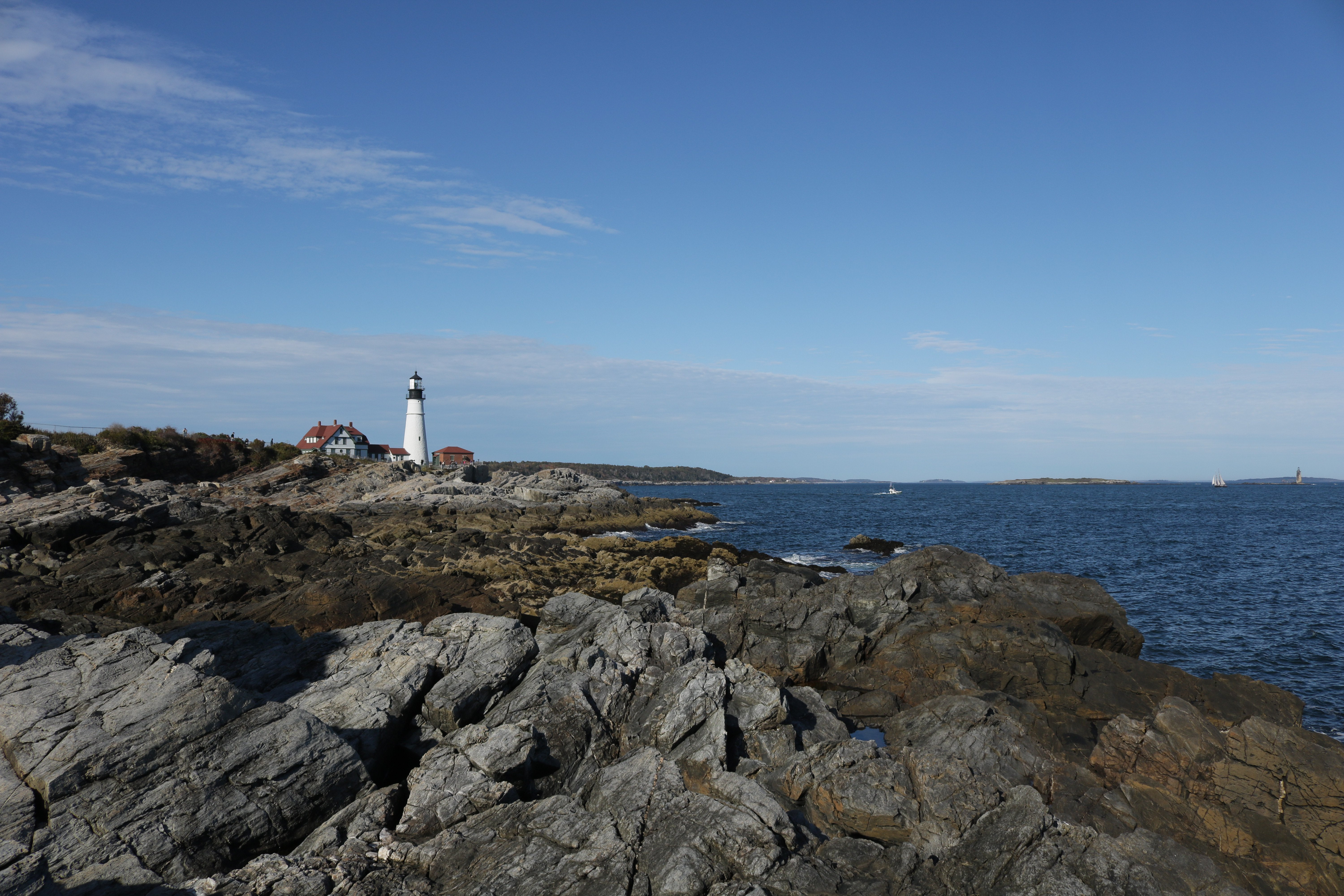 Portland Headlight Cape Elizabeth Maine wallpaper