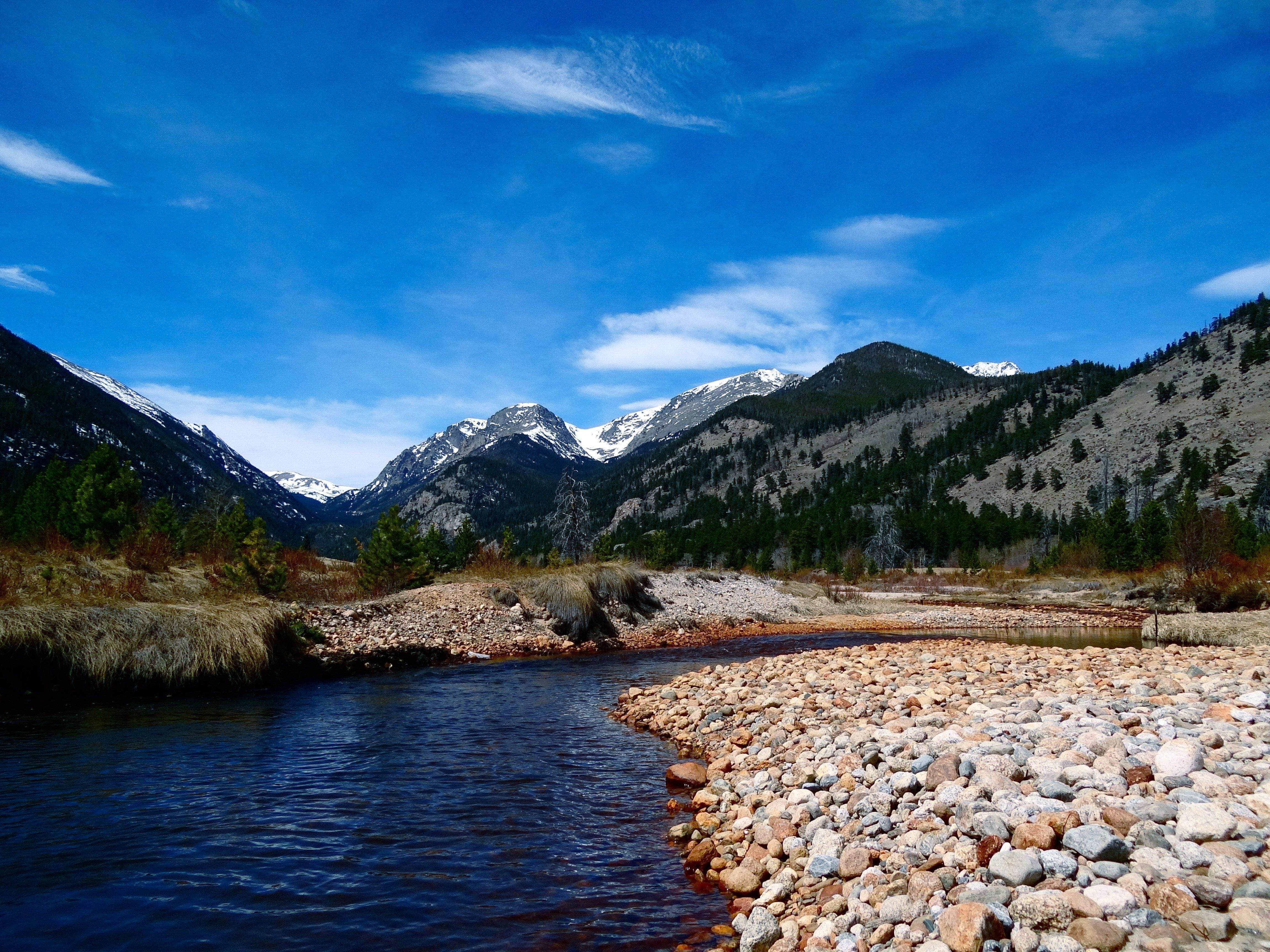 rocky mountain creek wallpaper - photo #1
