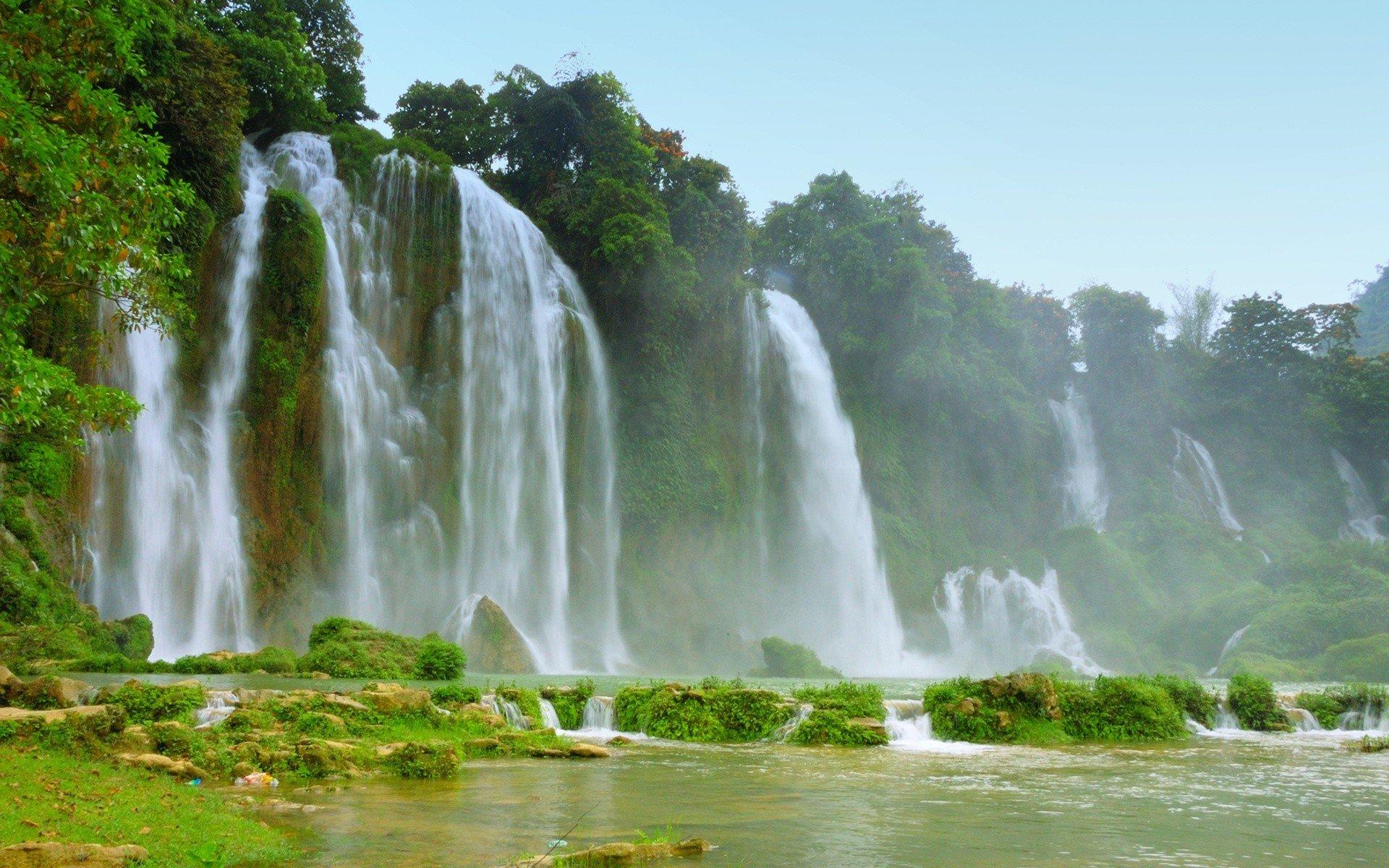 detian falls vietnam 16458 wallpaper