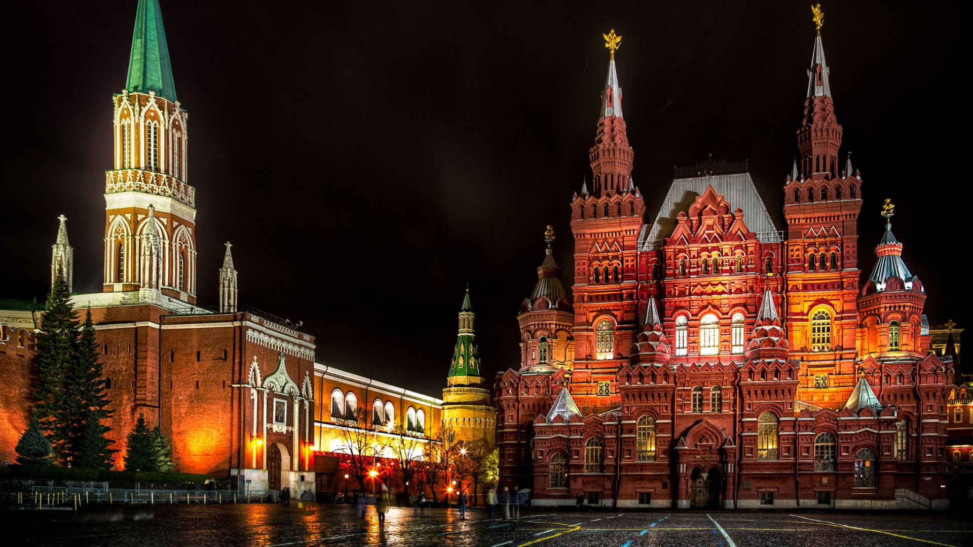 Moscow Russia Red Square wallpaper