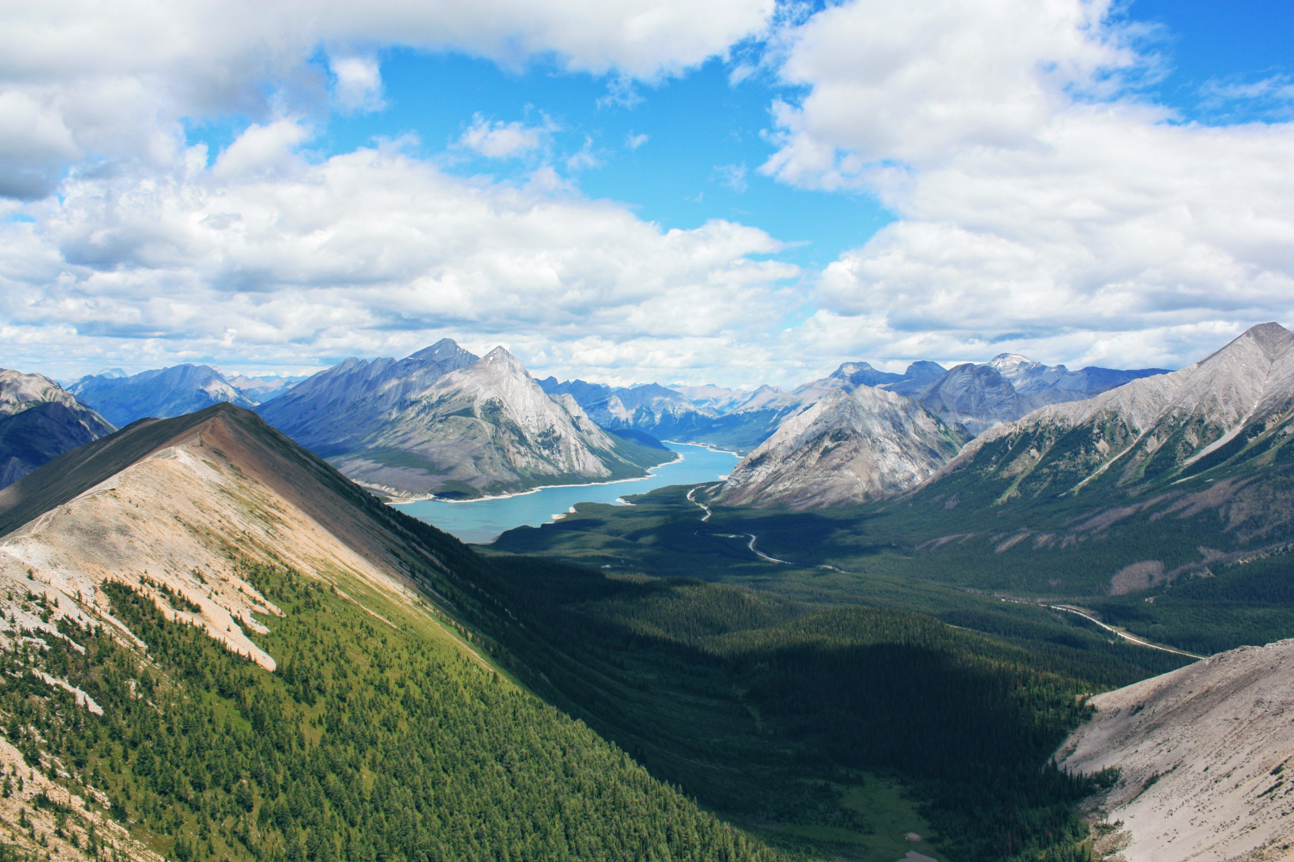 Favourite Hike Ever in the Kananaskis Alberta Canada wallpaper