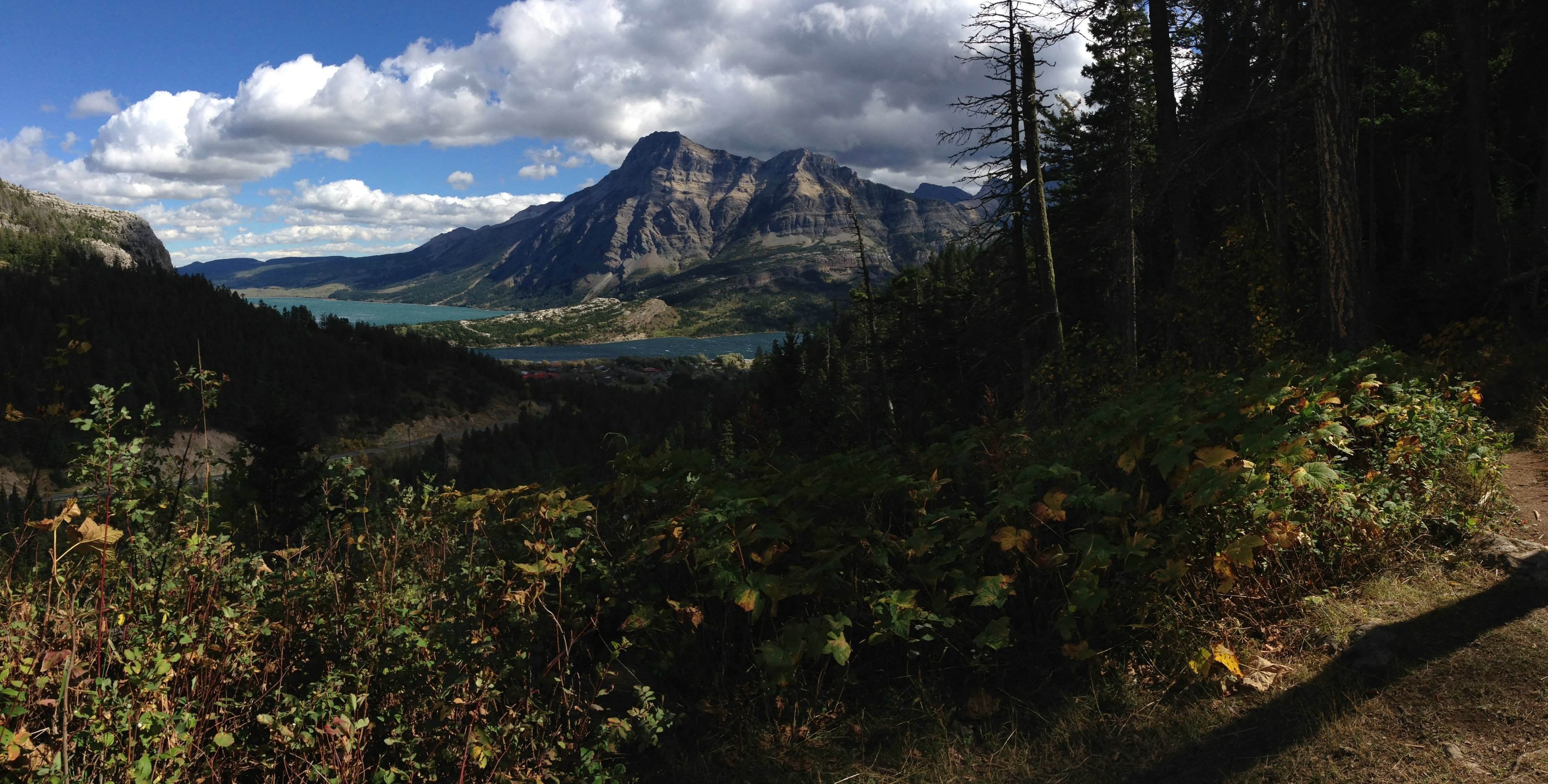 One of My Favourite Views of Waterton Lakes AB wallpaper