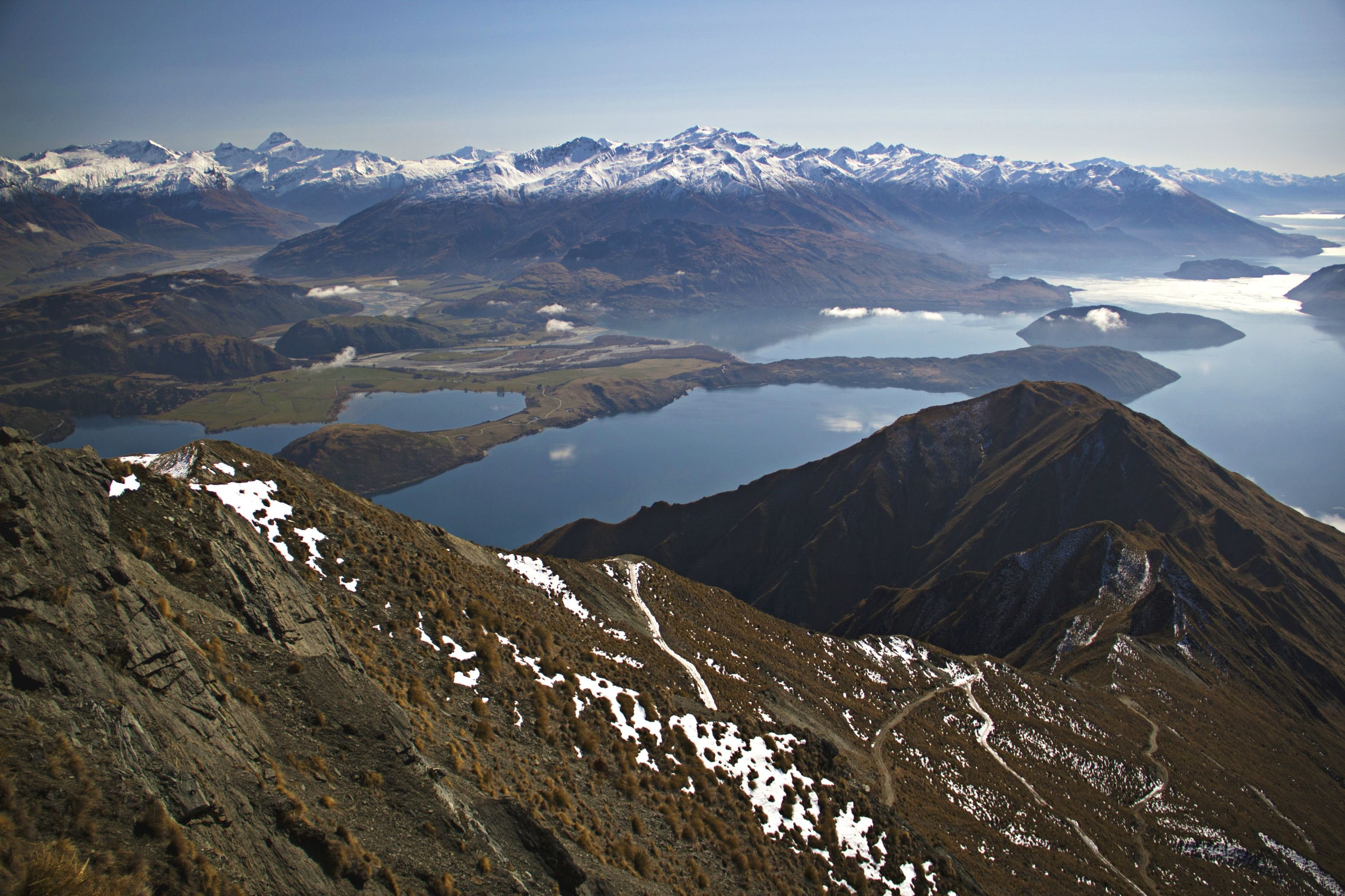 The View From the Top of Roys Peak - Wanaka New Zealand wallpaper