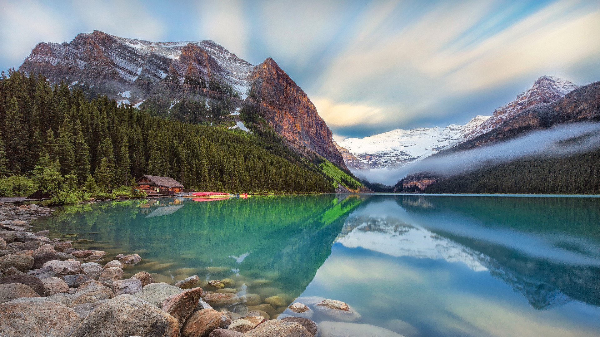 Lake Louise Canada 17135 Hd Wallpaper