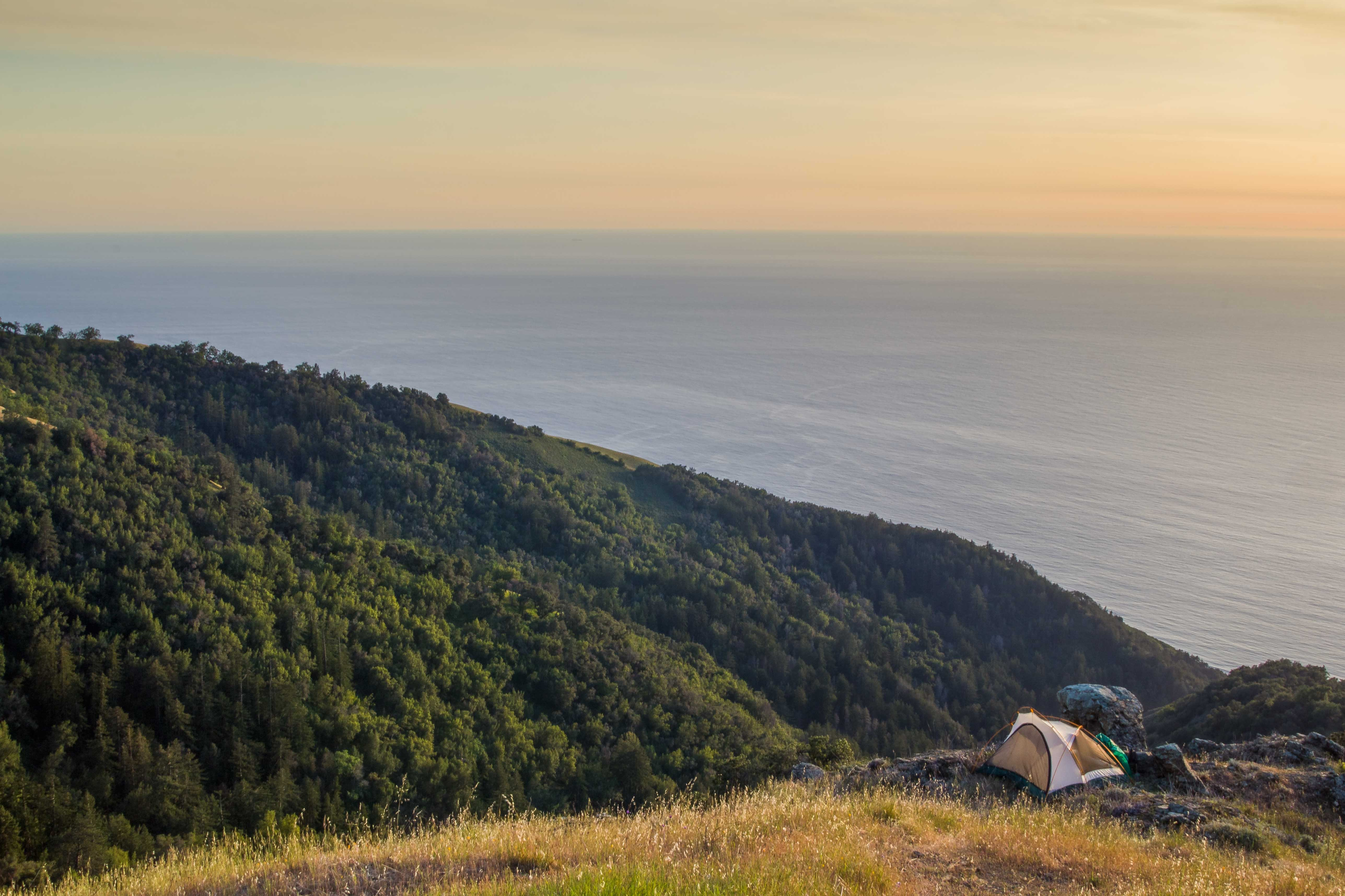 Camping On The Edge Of The World Big Sur Ca 4k Wallpaper