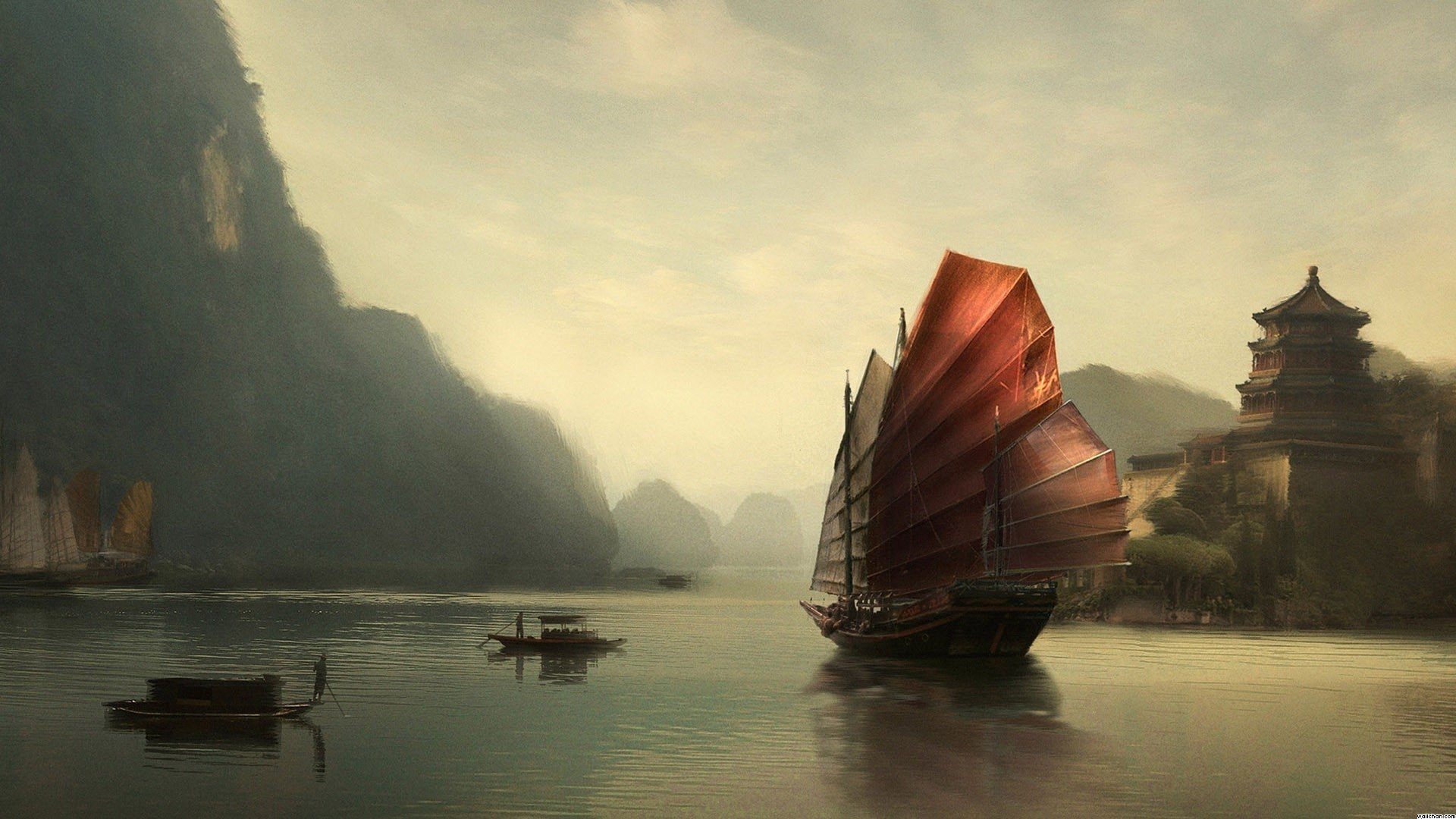 chinese painting wallpapers android - photo #27