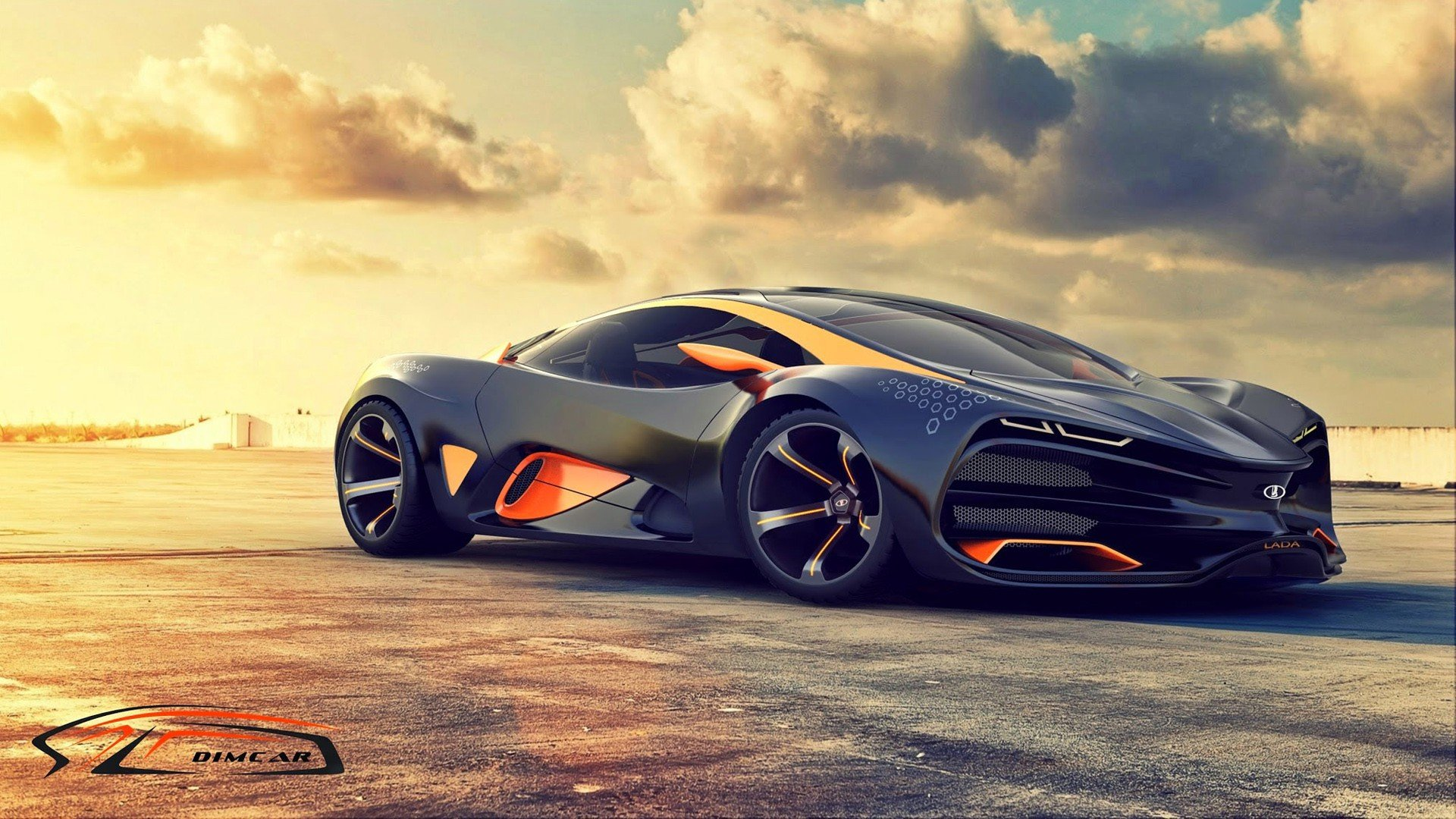 Lada Raven Supercar Hd Wallpaper