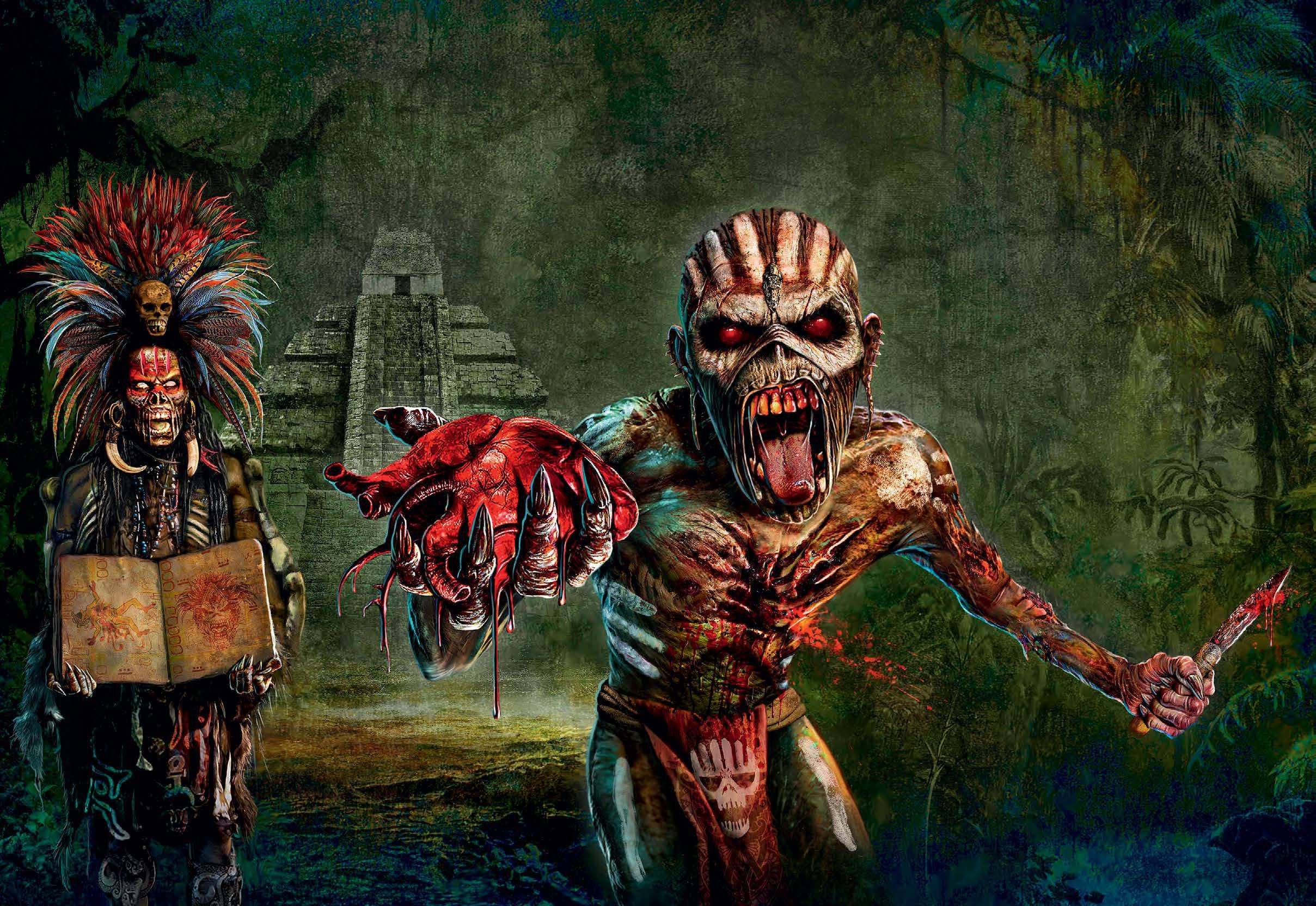 Two Iron Maiden S Extracted From The Digital Itunes Booklet Hd