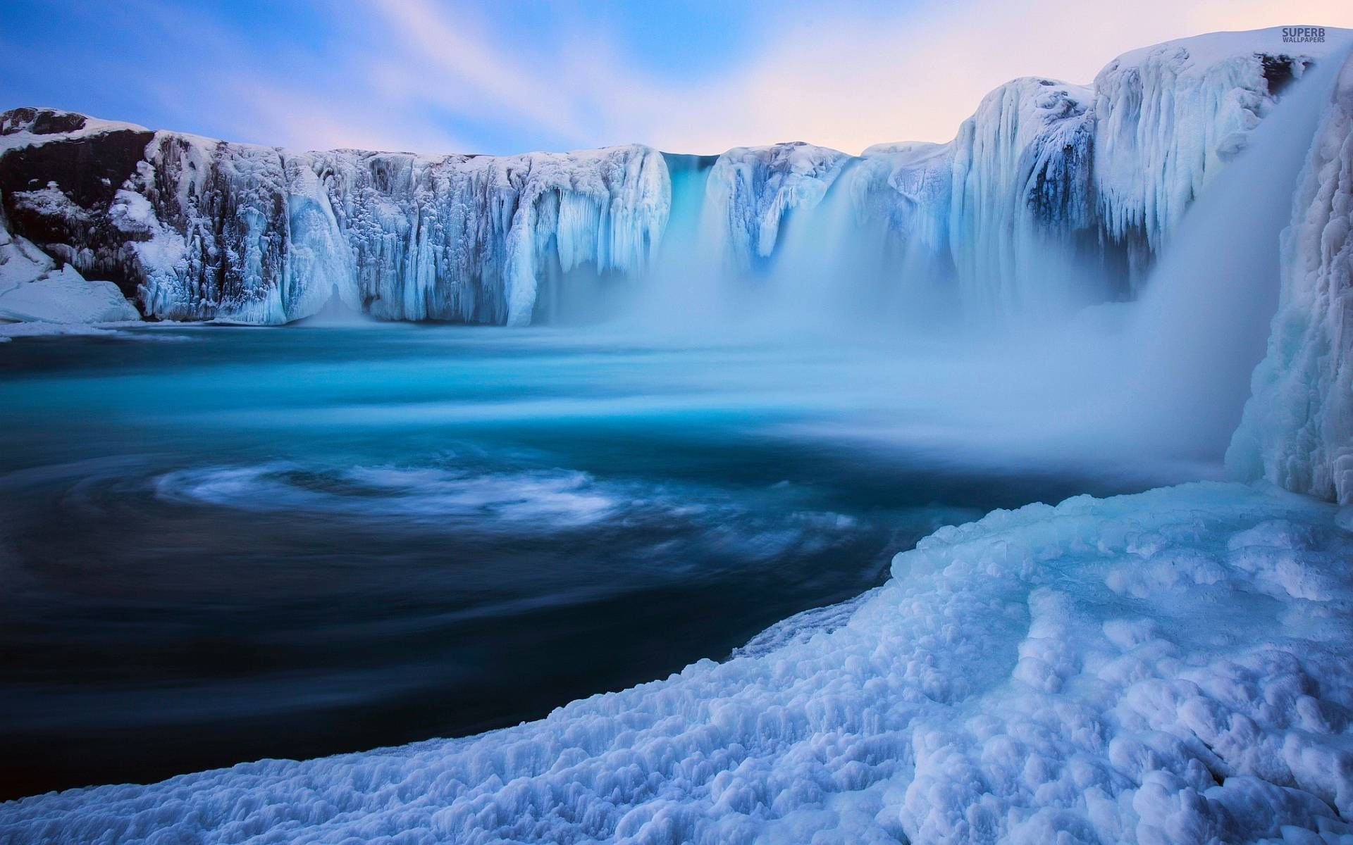 wallpaper godafoss iceland free - photo #23