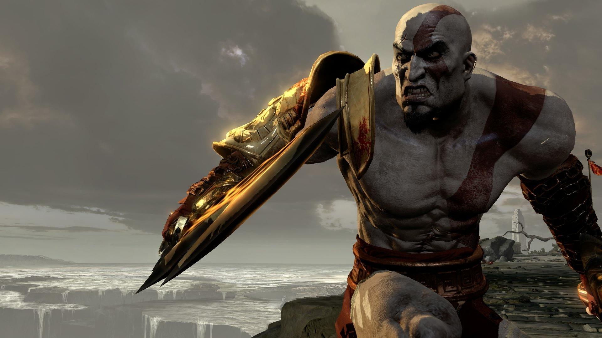 God Of War Kratos Hd Wallpaper