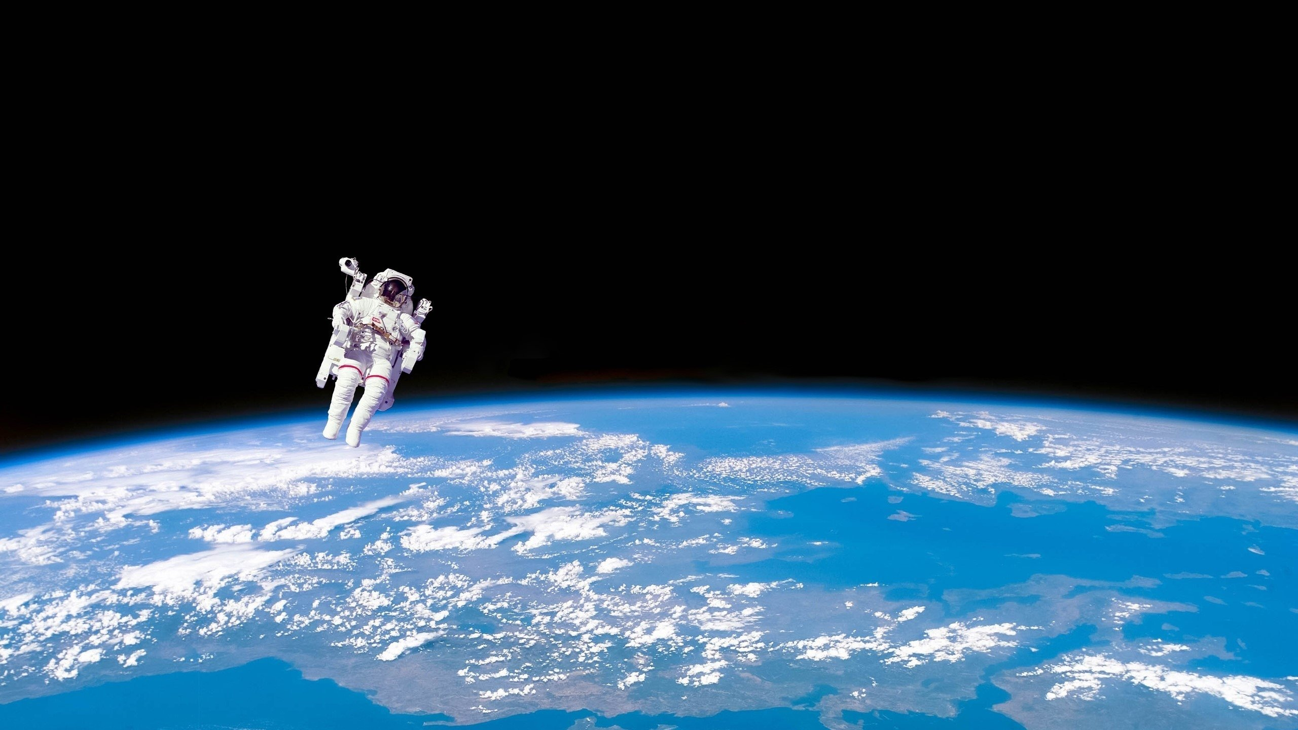 10 New Real Space Wallpapers 1920x1080 Full Hd 1080p For: Astronaut In Space HD Wallpaper