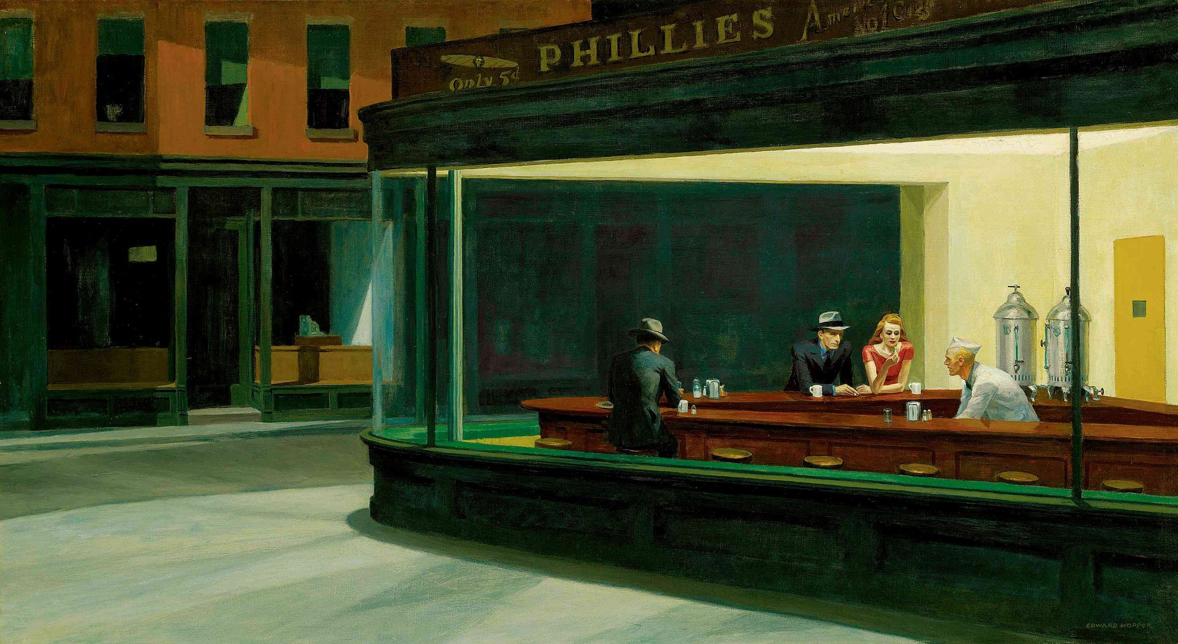 Nighthawks wallpaper