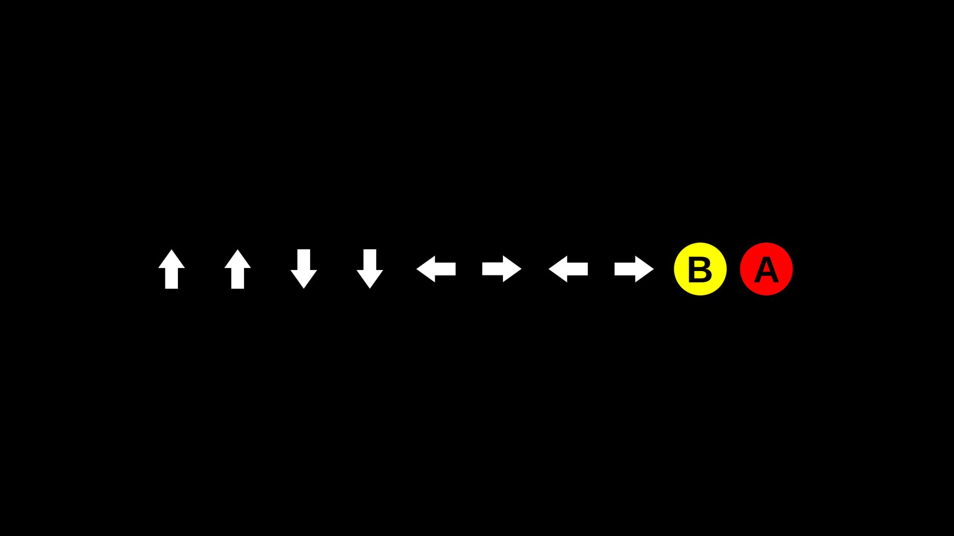 Konami Code Hd Wallpaper