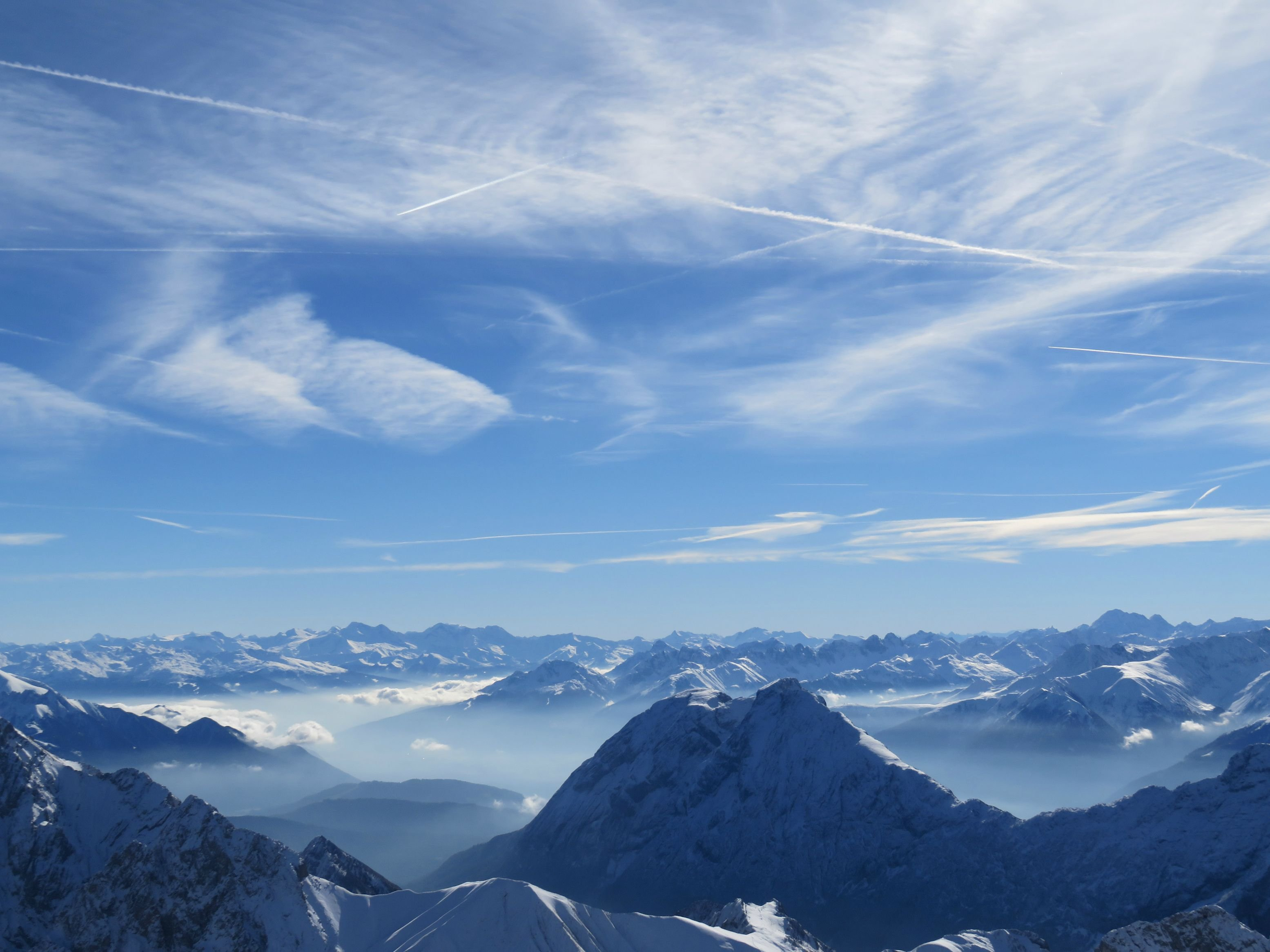 Screensavers, zugspitze, background, photography, mountain, walls ...