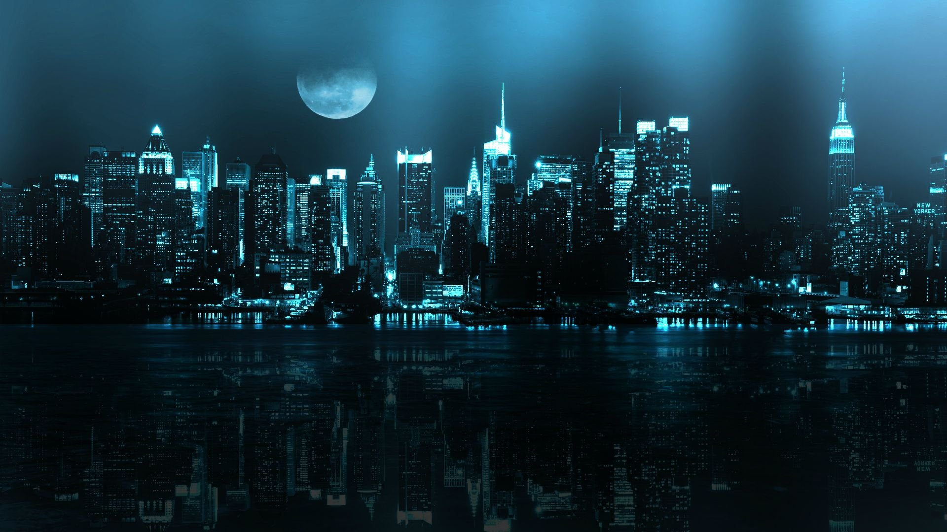 New York City at Night 18442 wallpaper