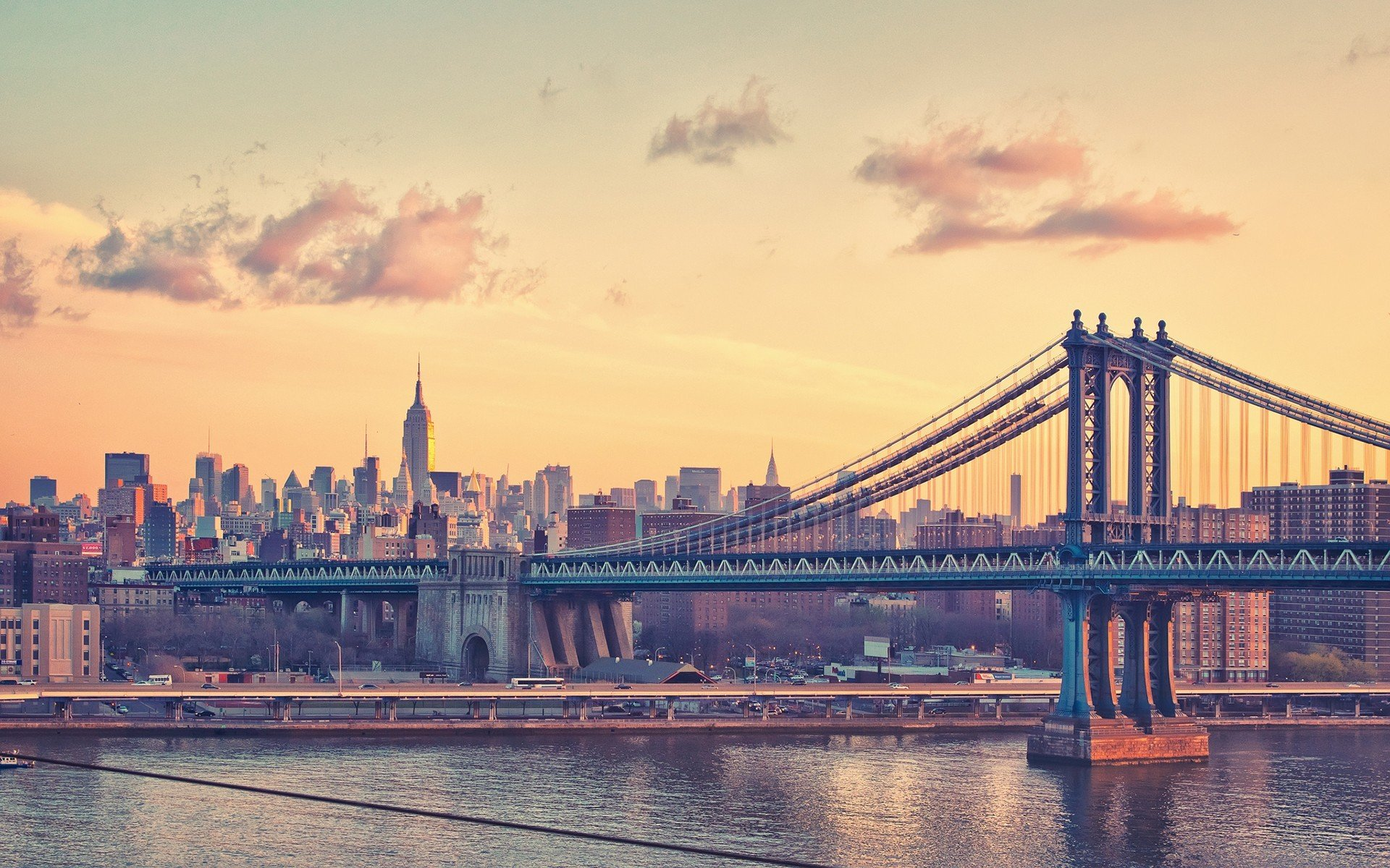 Skyline New York City View wallpaper