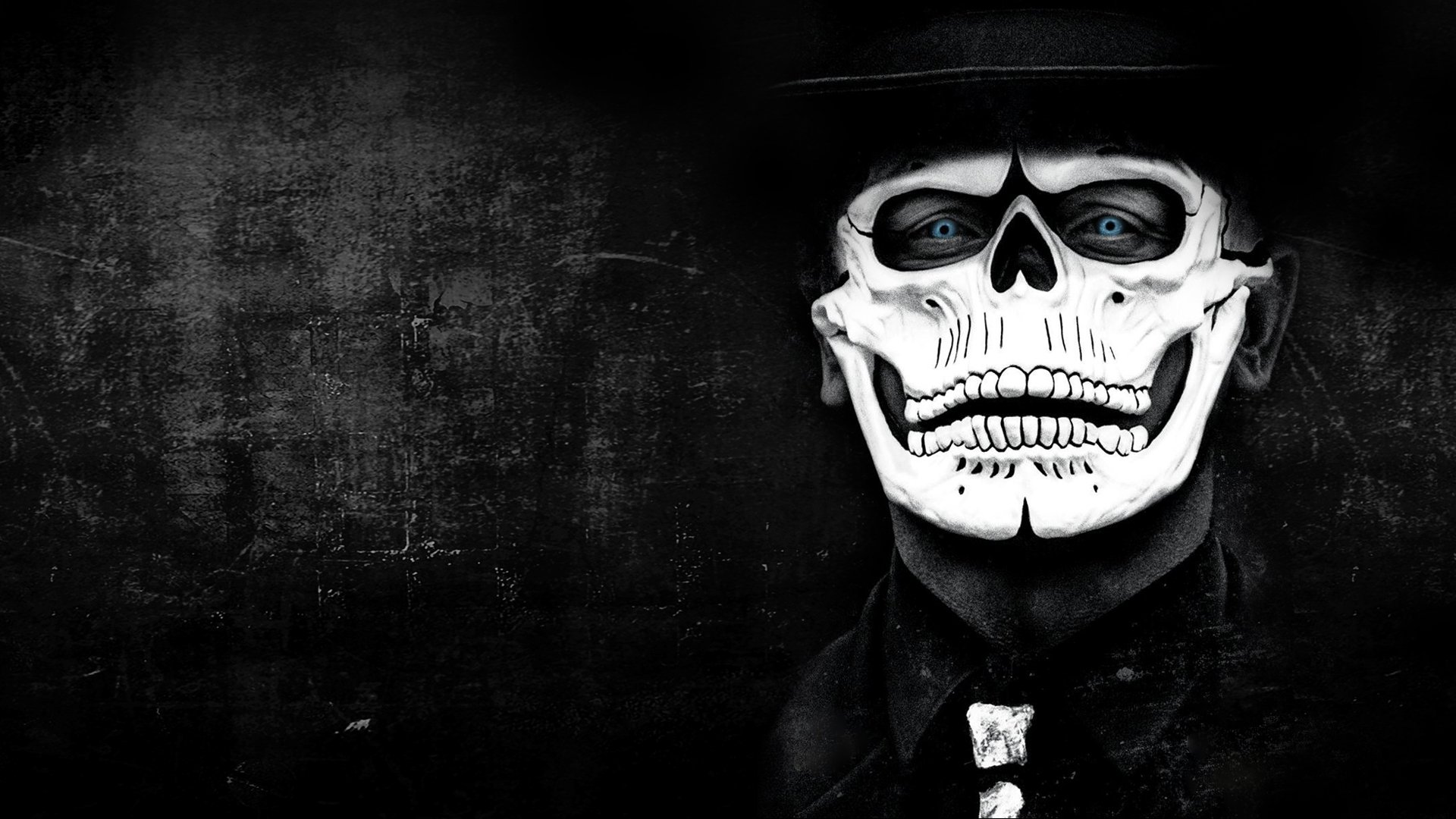 Spectre Skull Face wallpaper