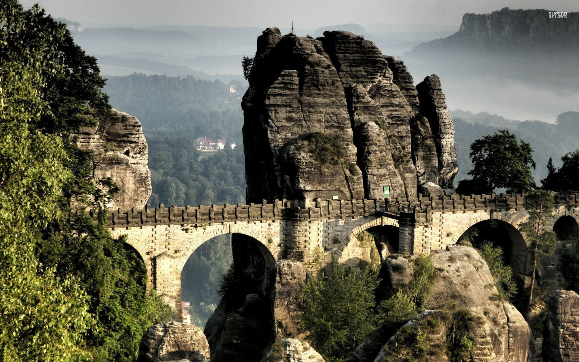 bastei bridge 1920x1080 - photo #16