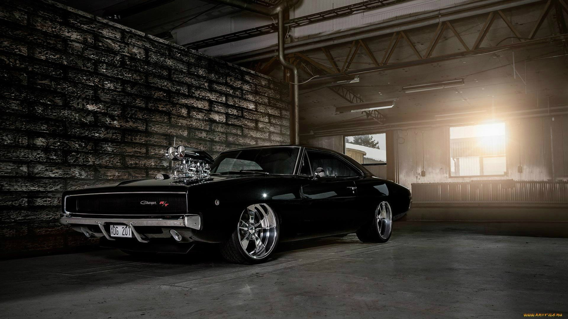 Dodge Charger 1968 wallpaper