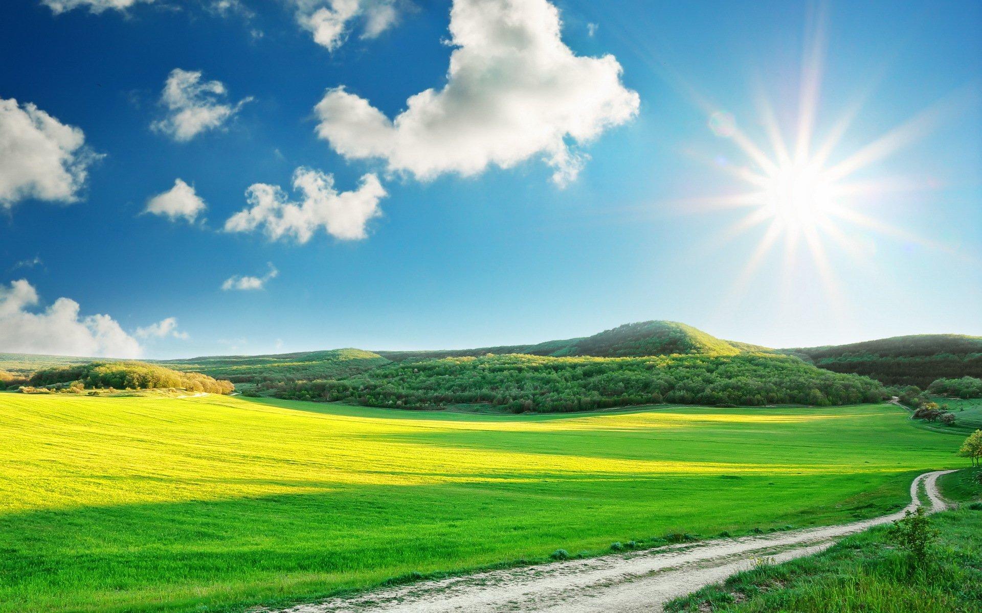 Beautiful Sunny Day Wallpaper - WallpaperSafari  |Sunny Beautiful Day