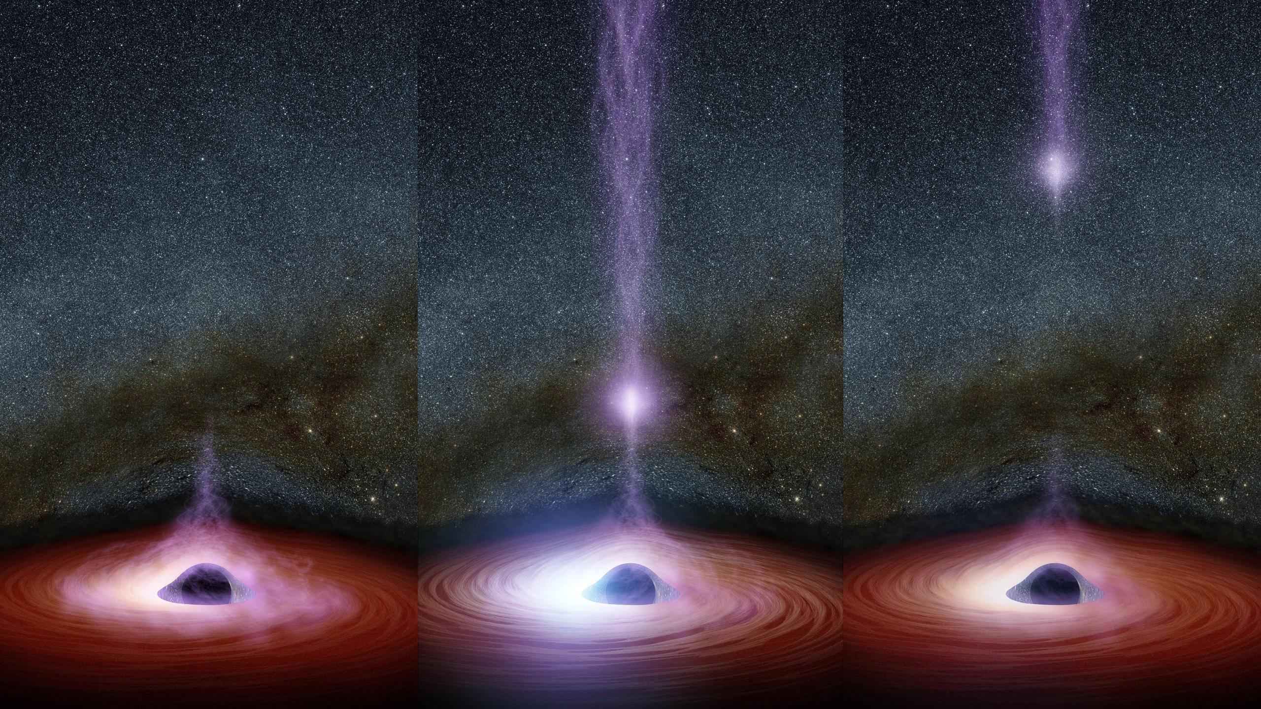 Nasa Black Hole Flare Images Hd Wallpaper