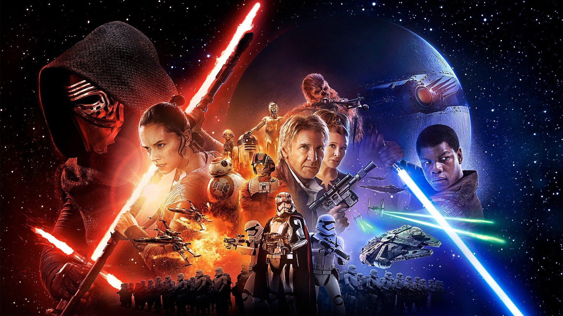 Star Wars Episode Vii The Force Awakens Movie 19912 Hd Wallpaper