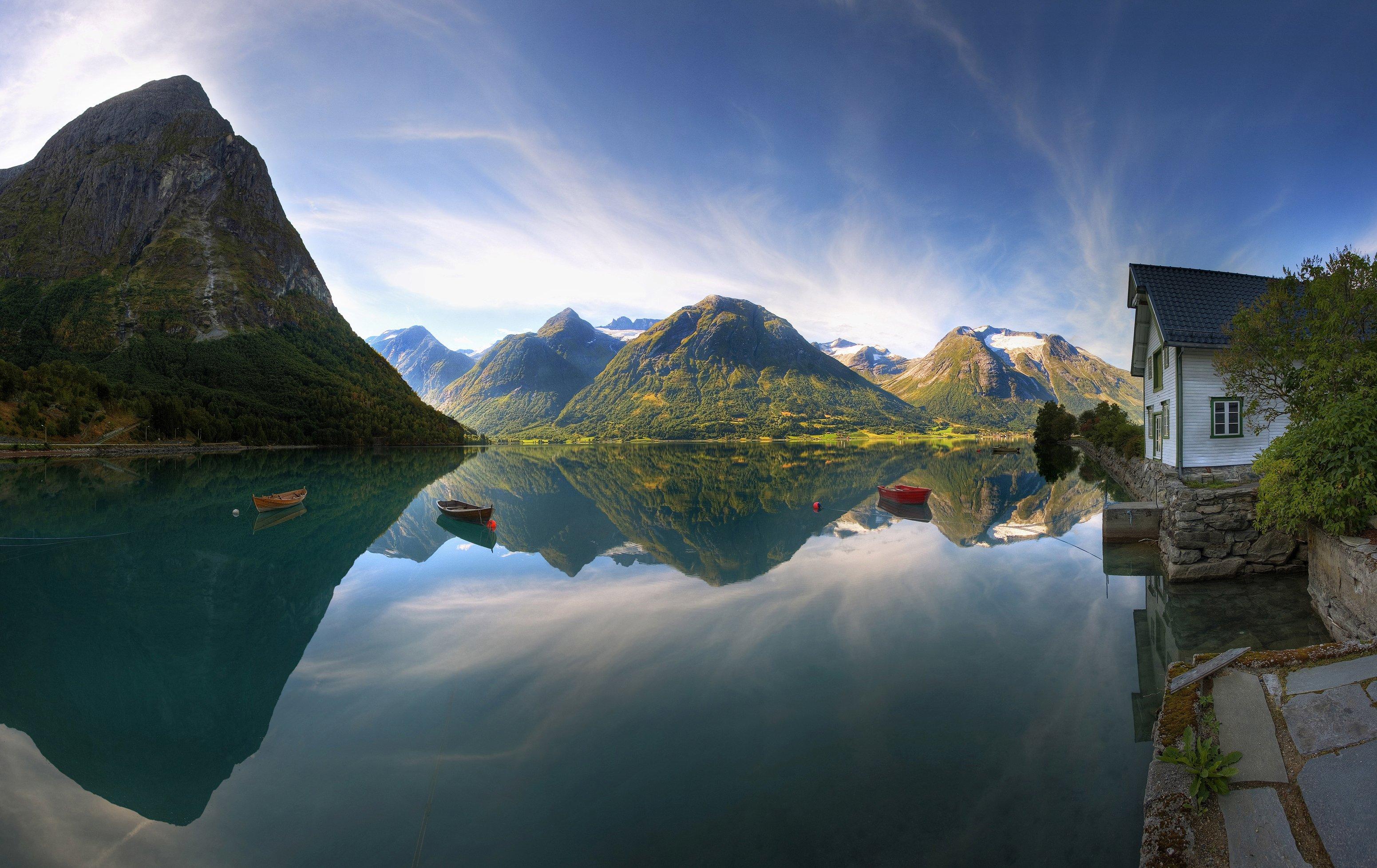 Serenity In Norway Hd Wallpaper