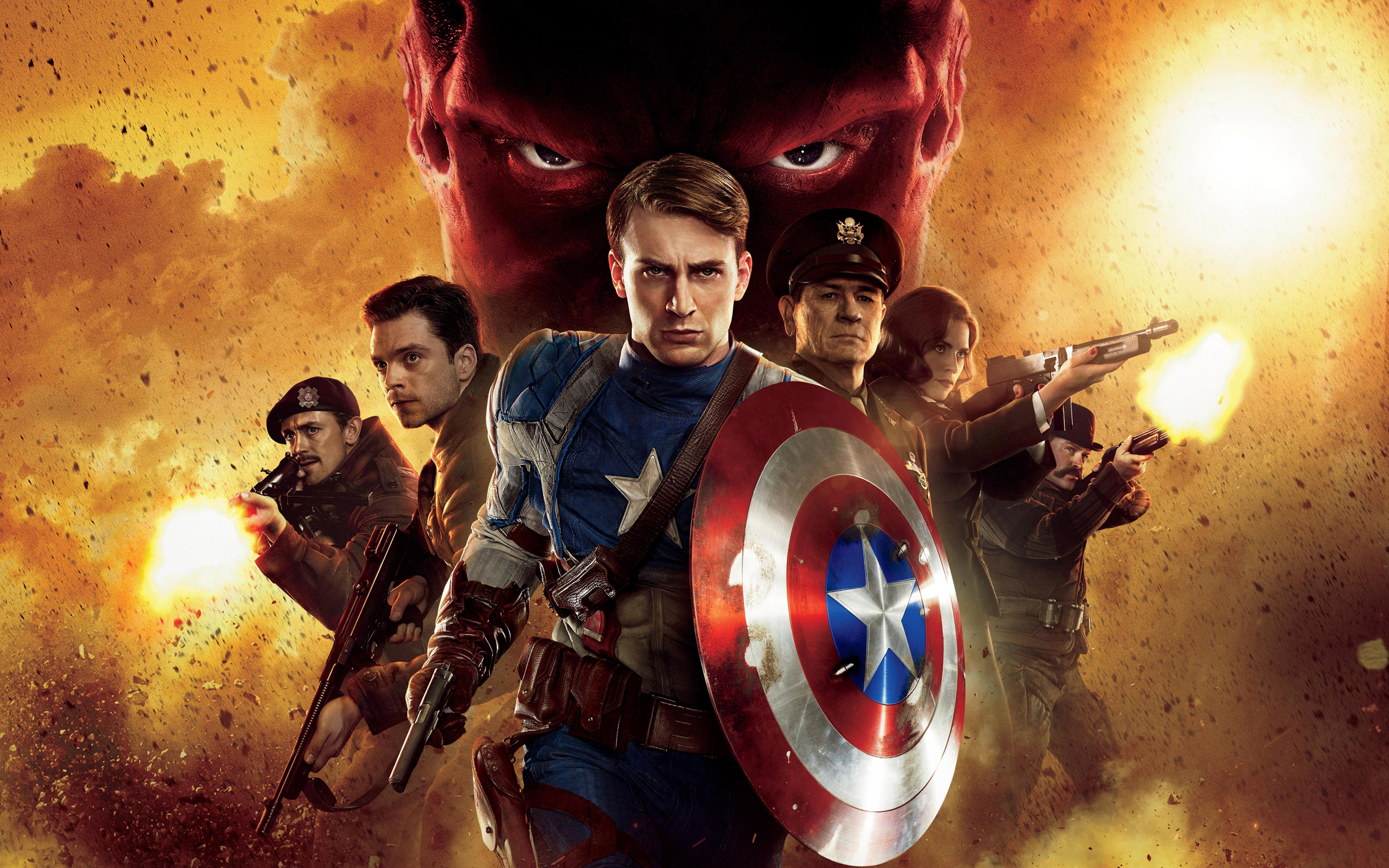 Captain America First Avenger Hd Wallpaper