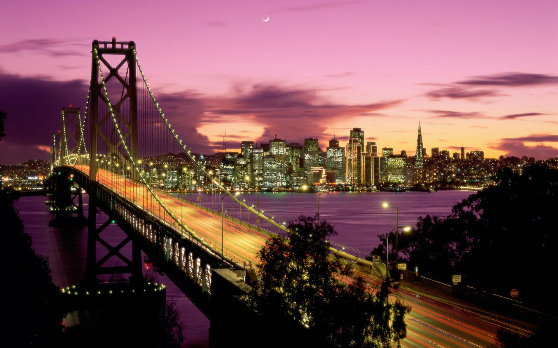 Bay Bridge San Francisco wallpaper