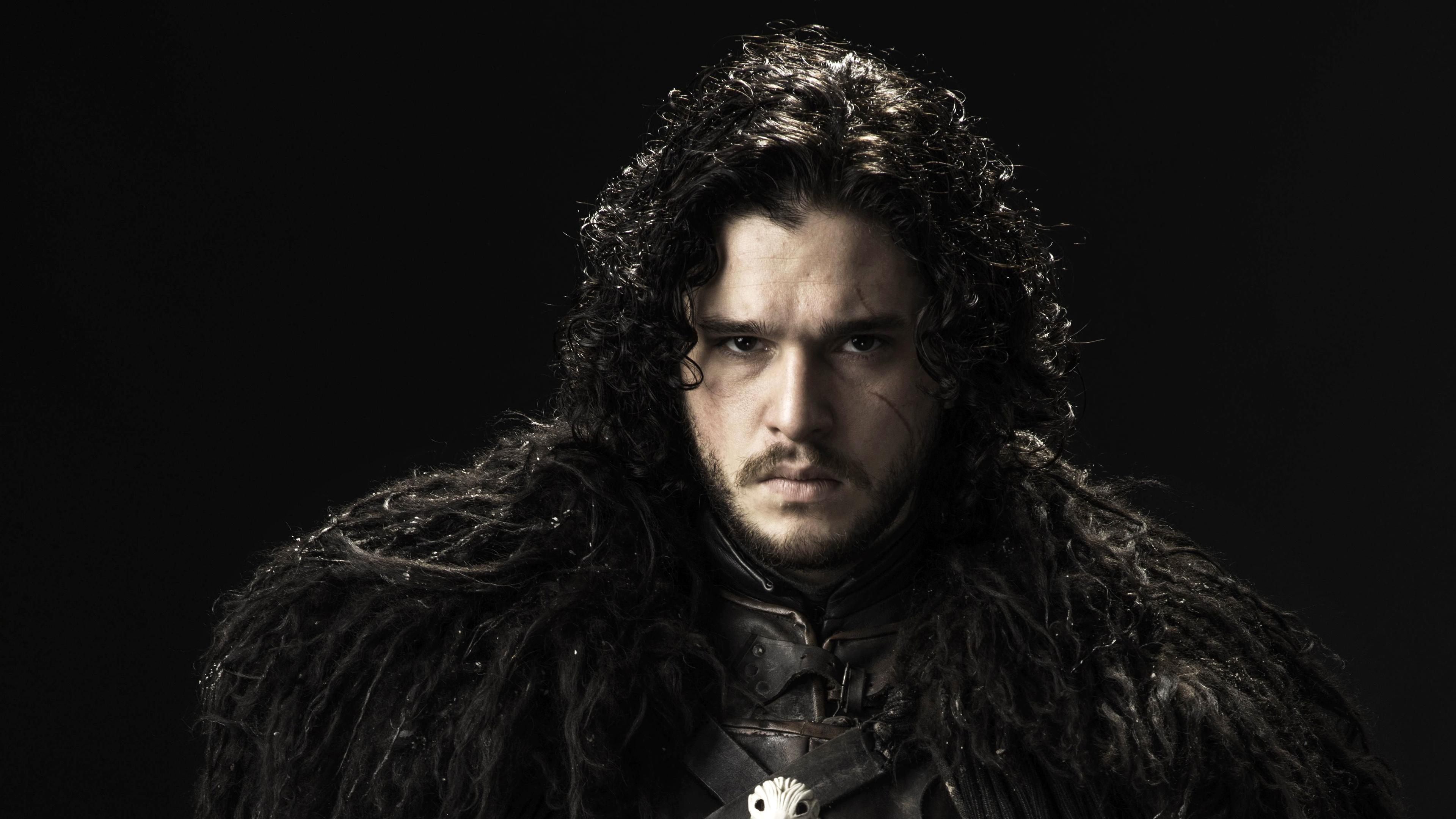 4k Game Of Thrones Wallpaper: Kit Harington Jon Snow Game Of Thrones 4K Wallpaper