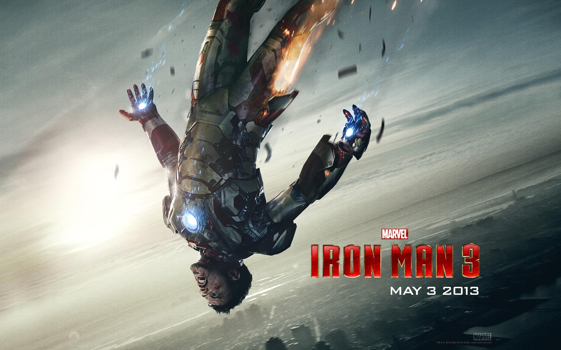 Tony Stark In Iron Man 3 Hd Wallpaper