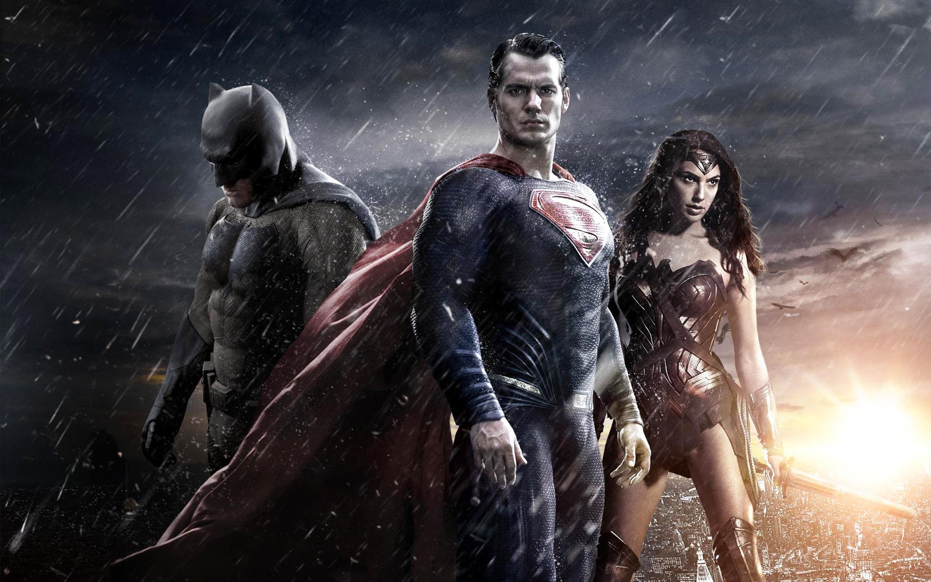 Batman Superman Wonder Woman Hd Wallpaper