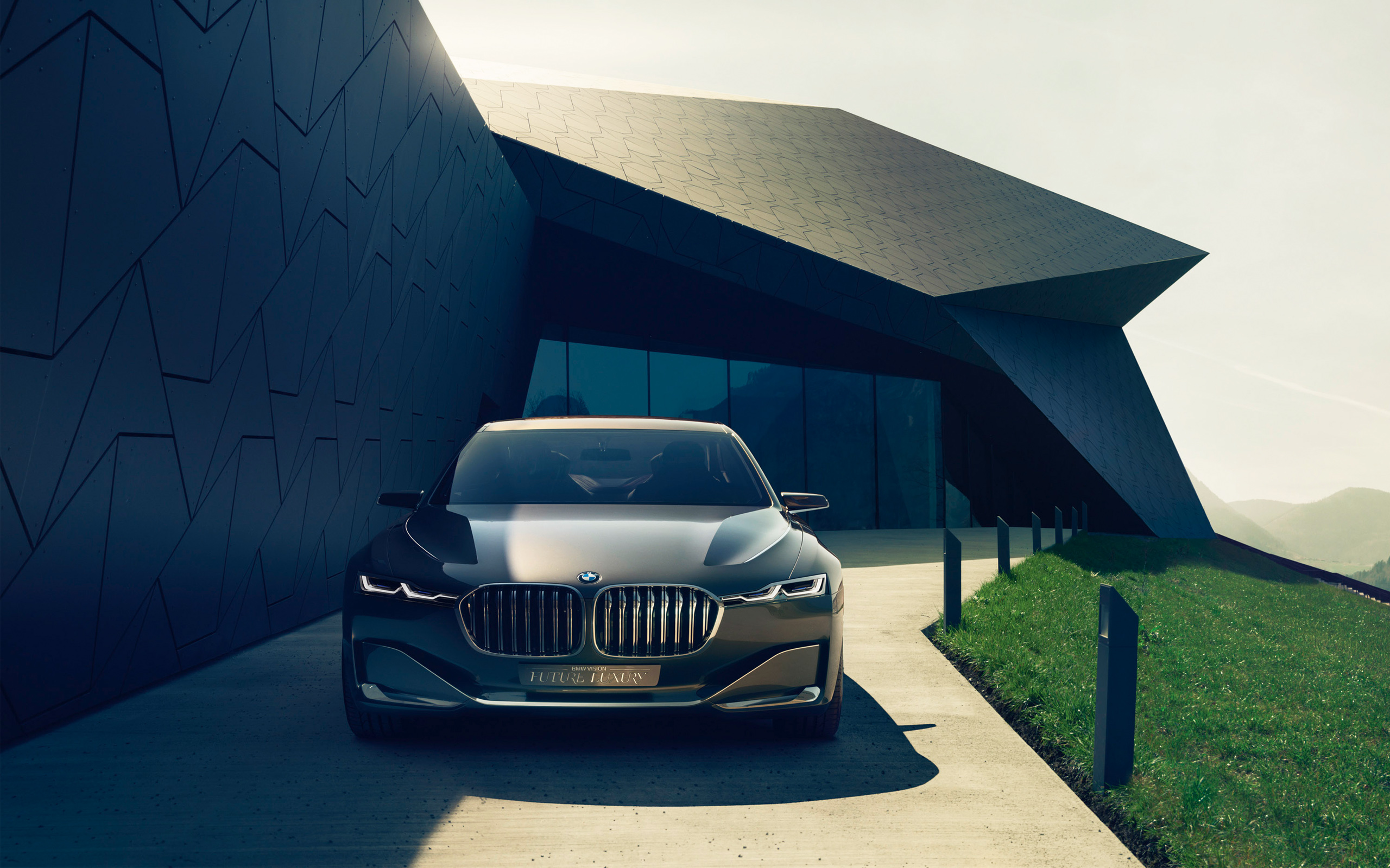 BMW Vision Future Luxury Car wallpaper