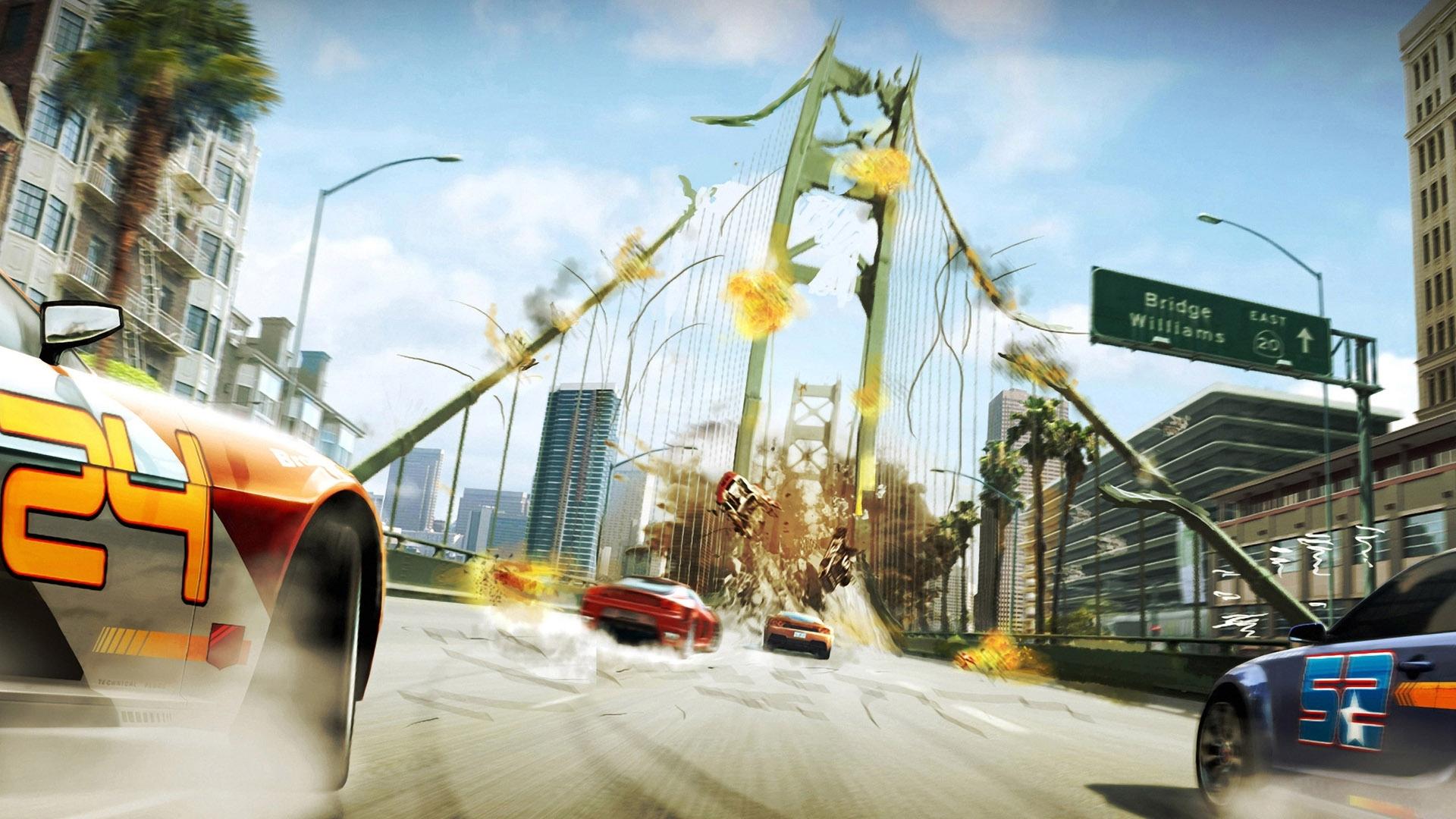 Burnout Paradise Race HD wallpaper