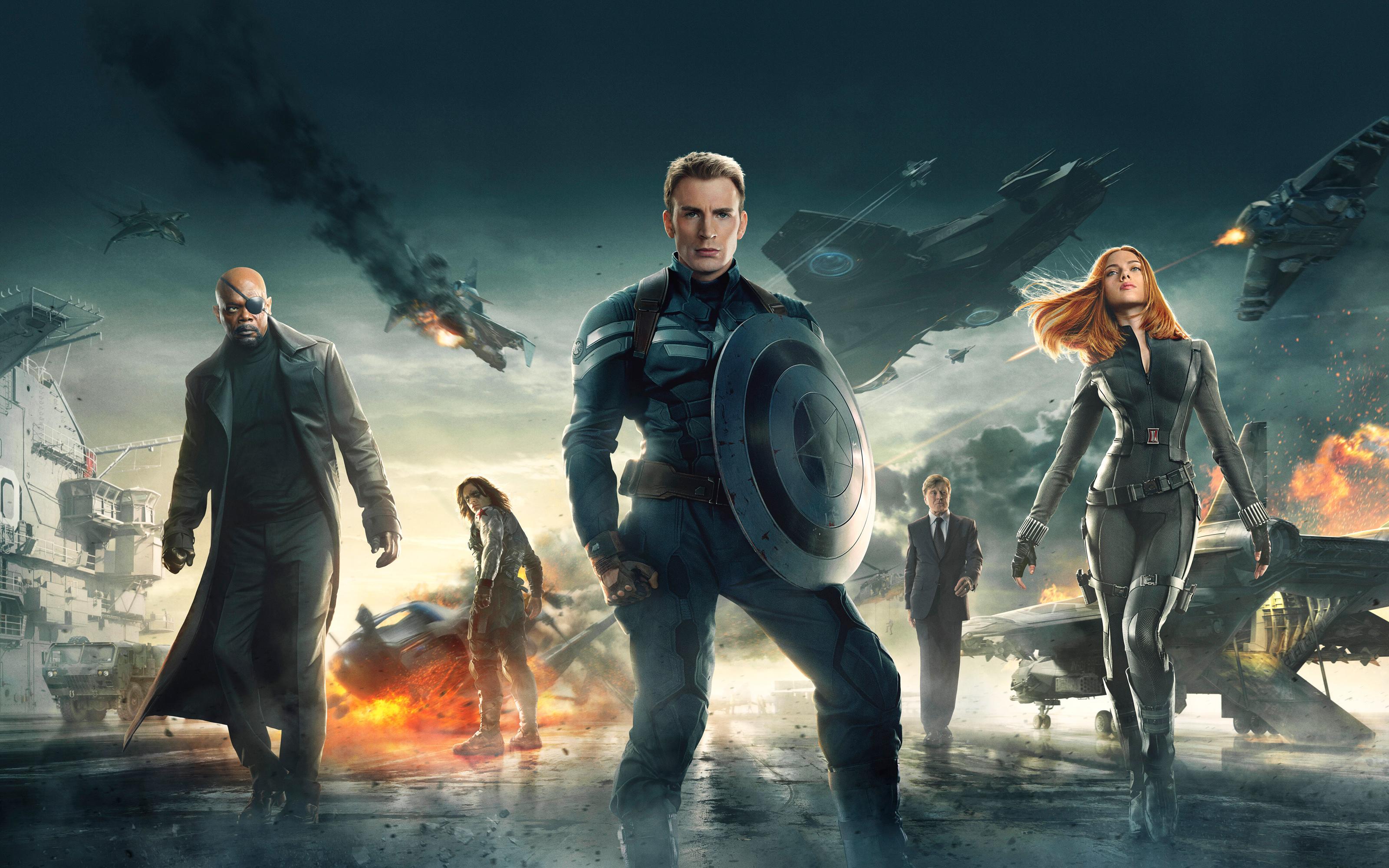 Captain America The Winter Soldier 2014 HD wallpaper