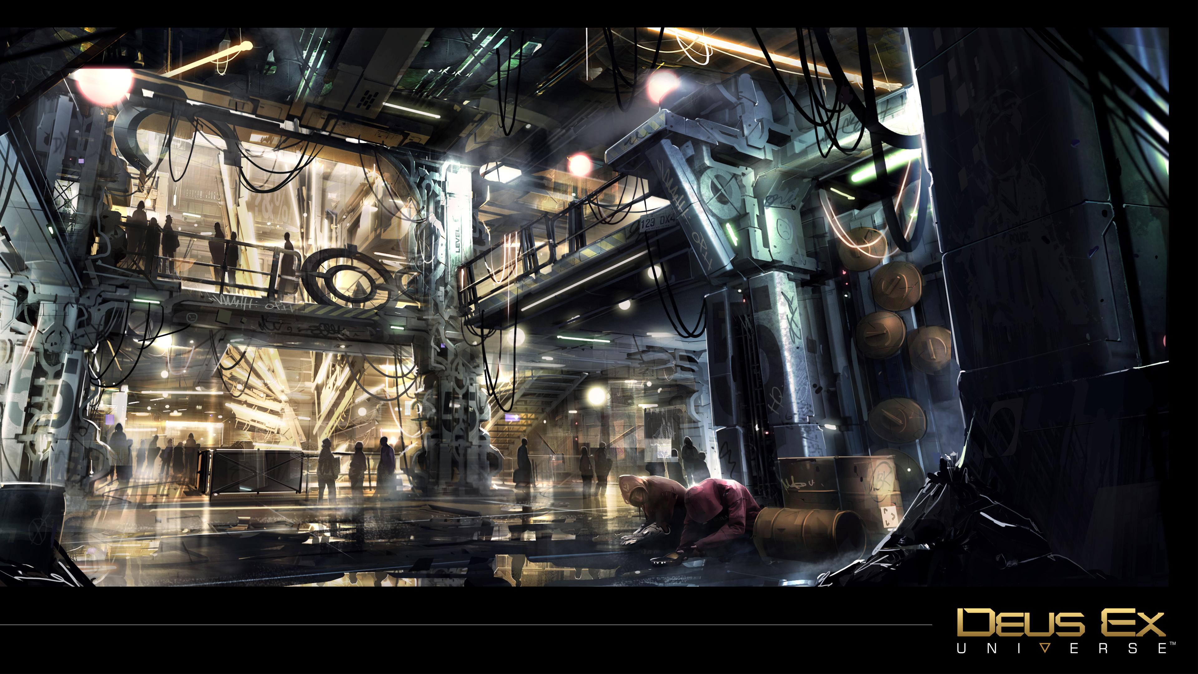 Deus Ex Mankind Divided 4k Wallpaper