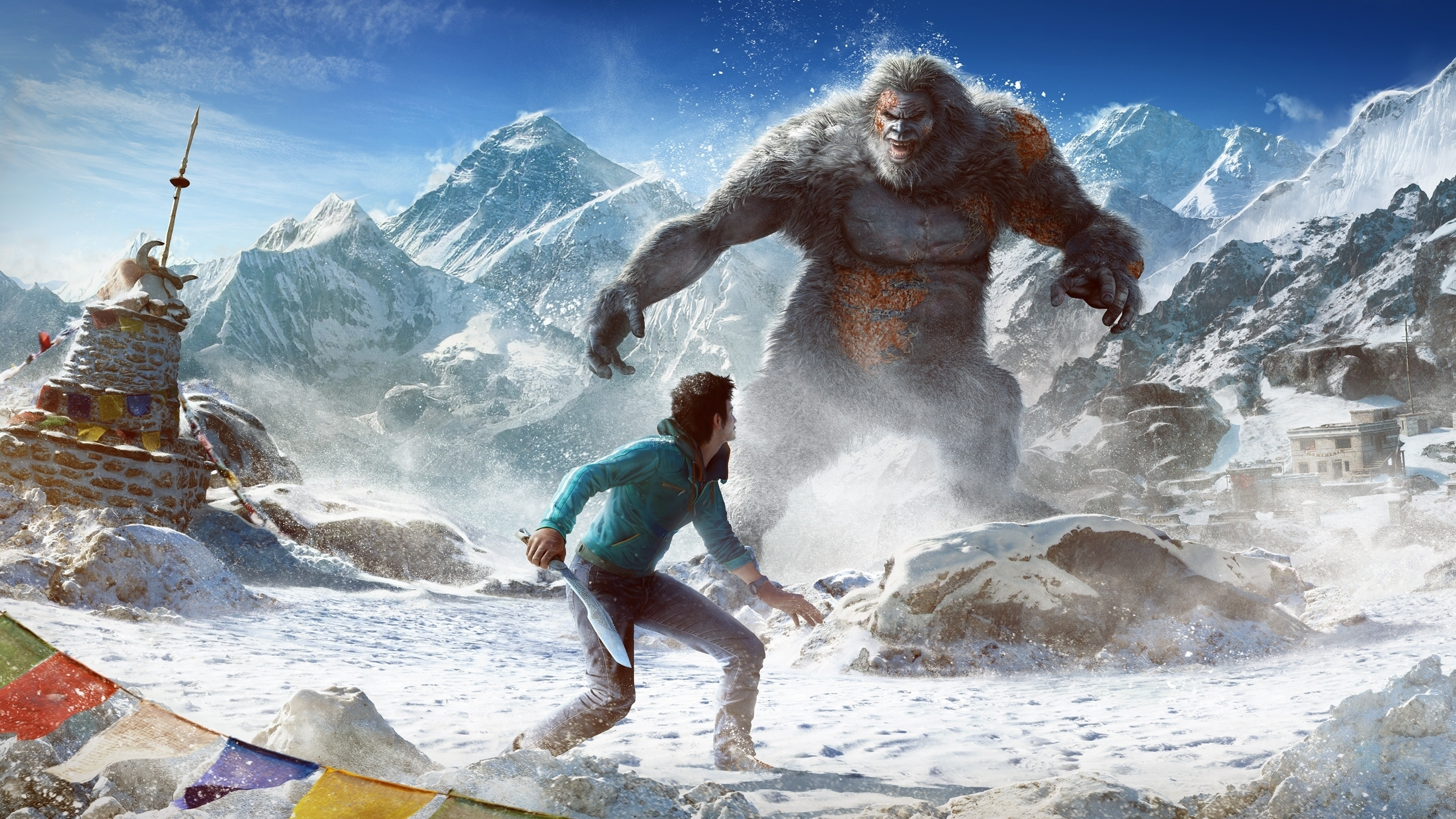 Yetis 4k Wallpapers For Your Desktop Or Mobile Screen Free