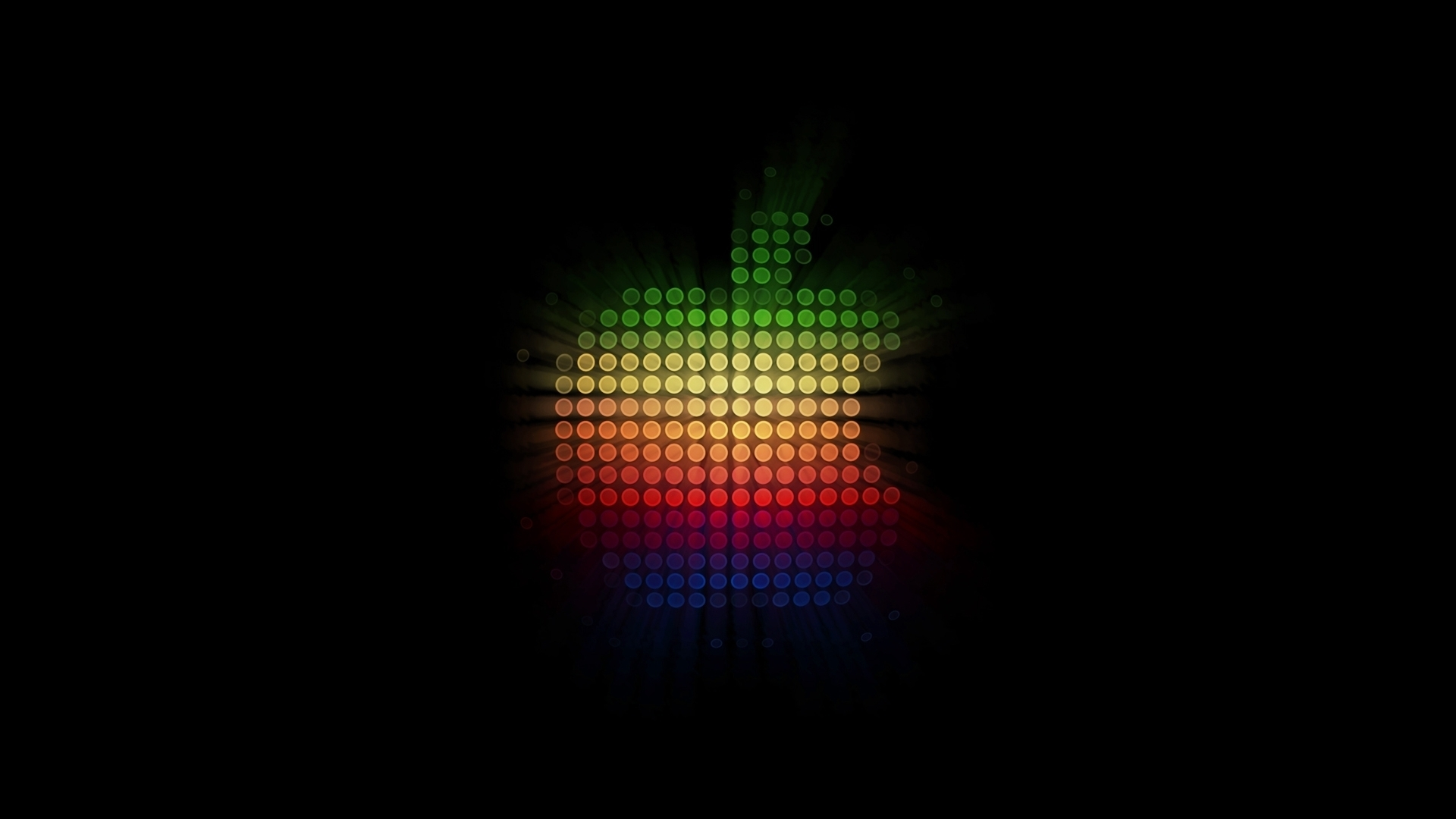 Glowing Lights Apple wallpaper