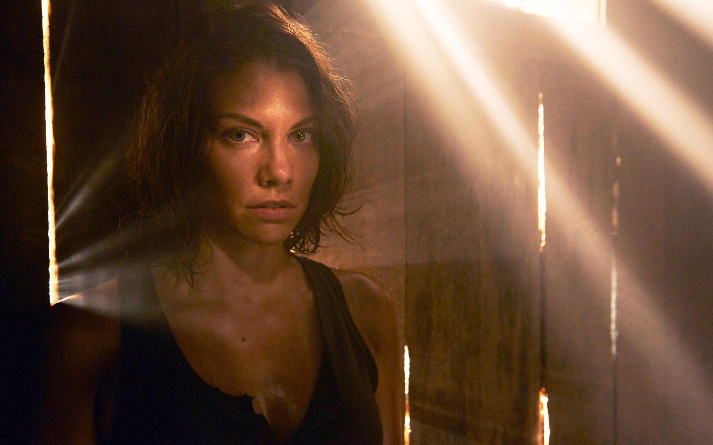 Lauren Cohan In Walking Dead Season 5 Hd Wallpaper