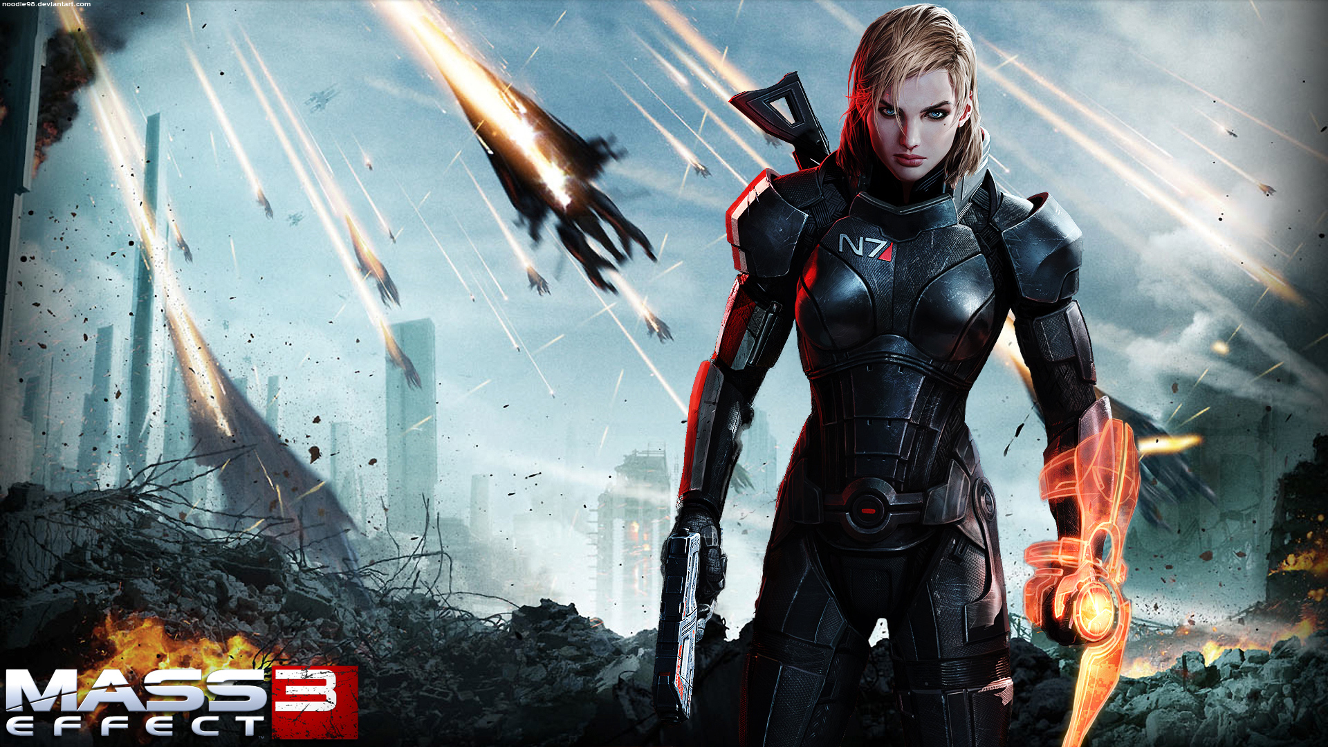 Mass Effect Female Shepard wallpaper