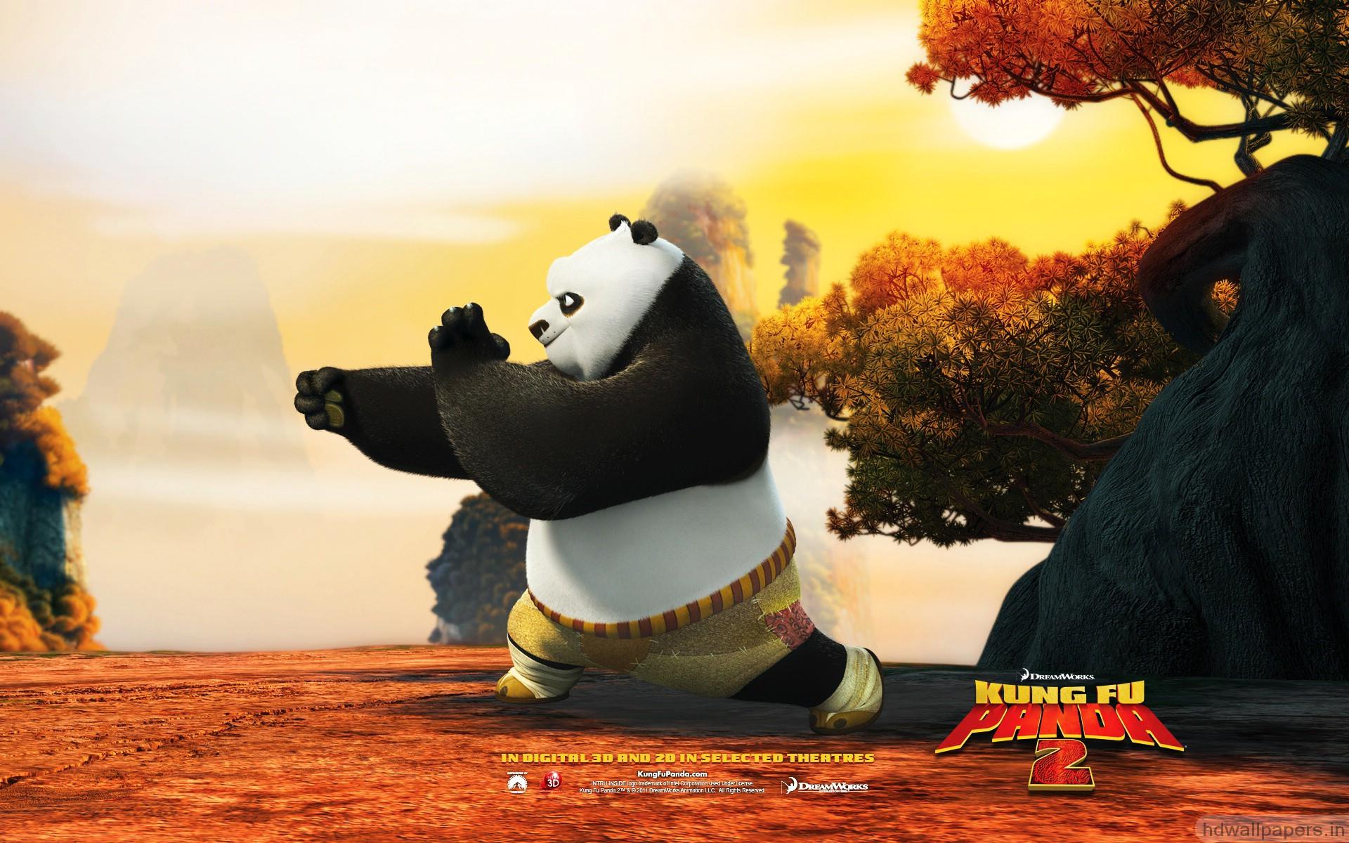 Po In Kung Fu Panda 2 Hd Wallpaper