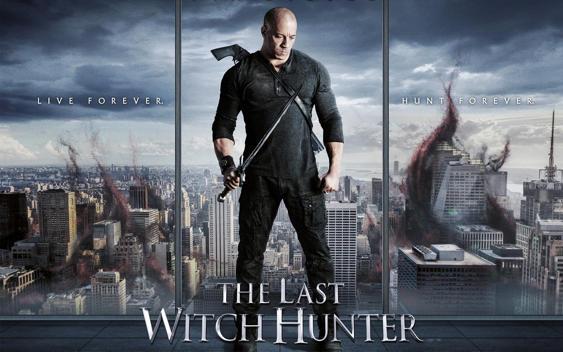 The Last Witch Hunter Vin Diesel wallpaper