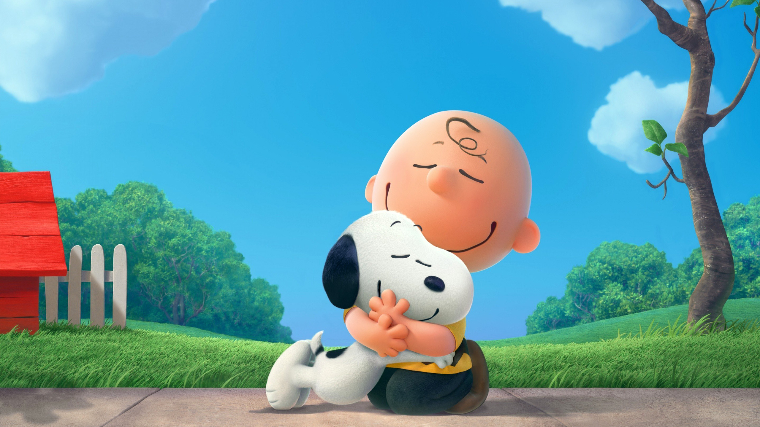 Peanuts Charlie Brown Snoopy HD wallpaper