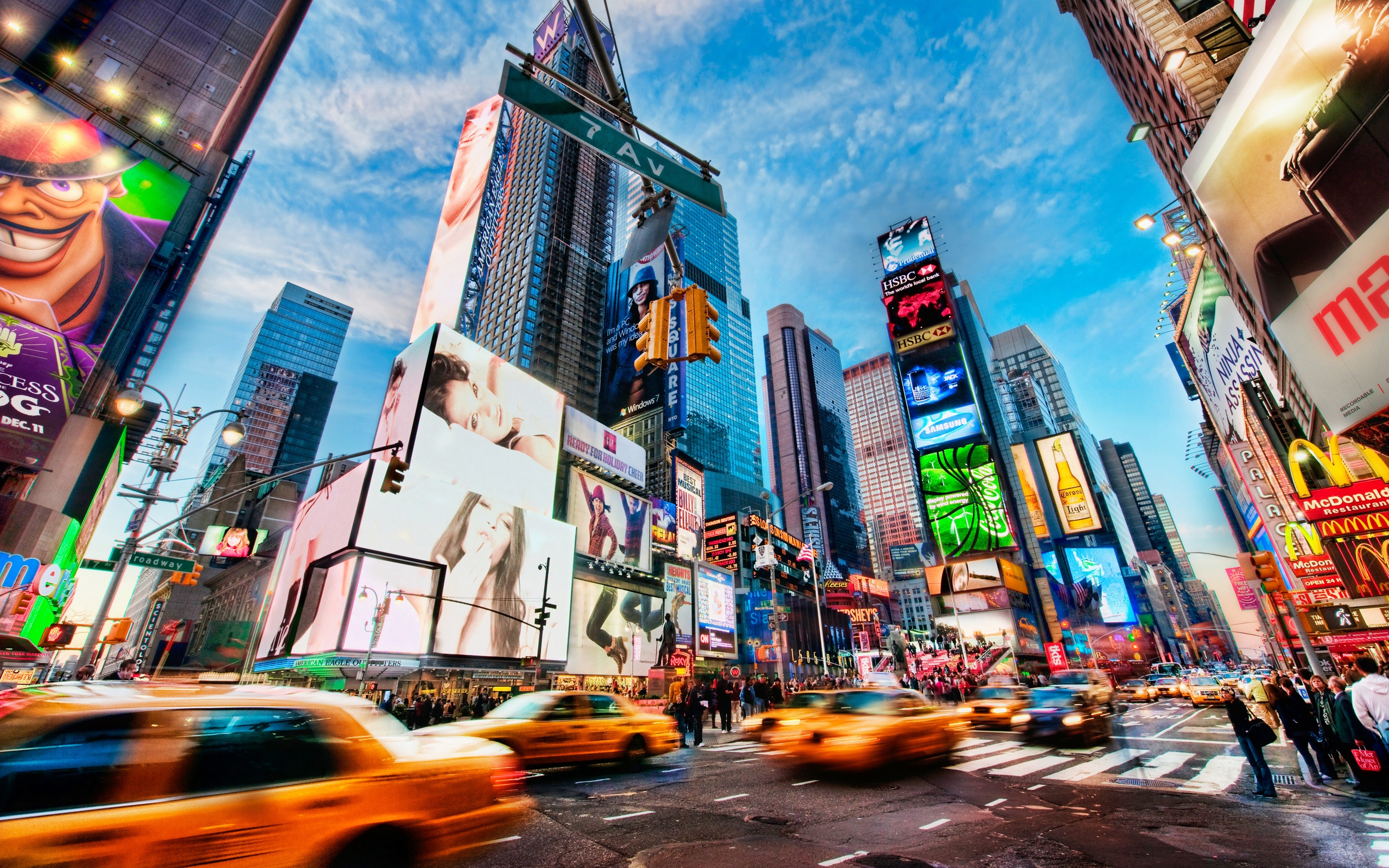 Times Square New York wallpaper