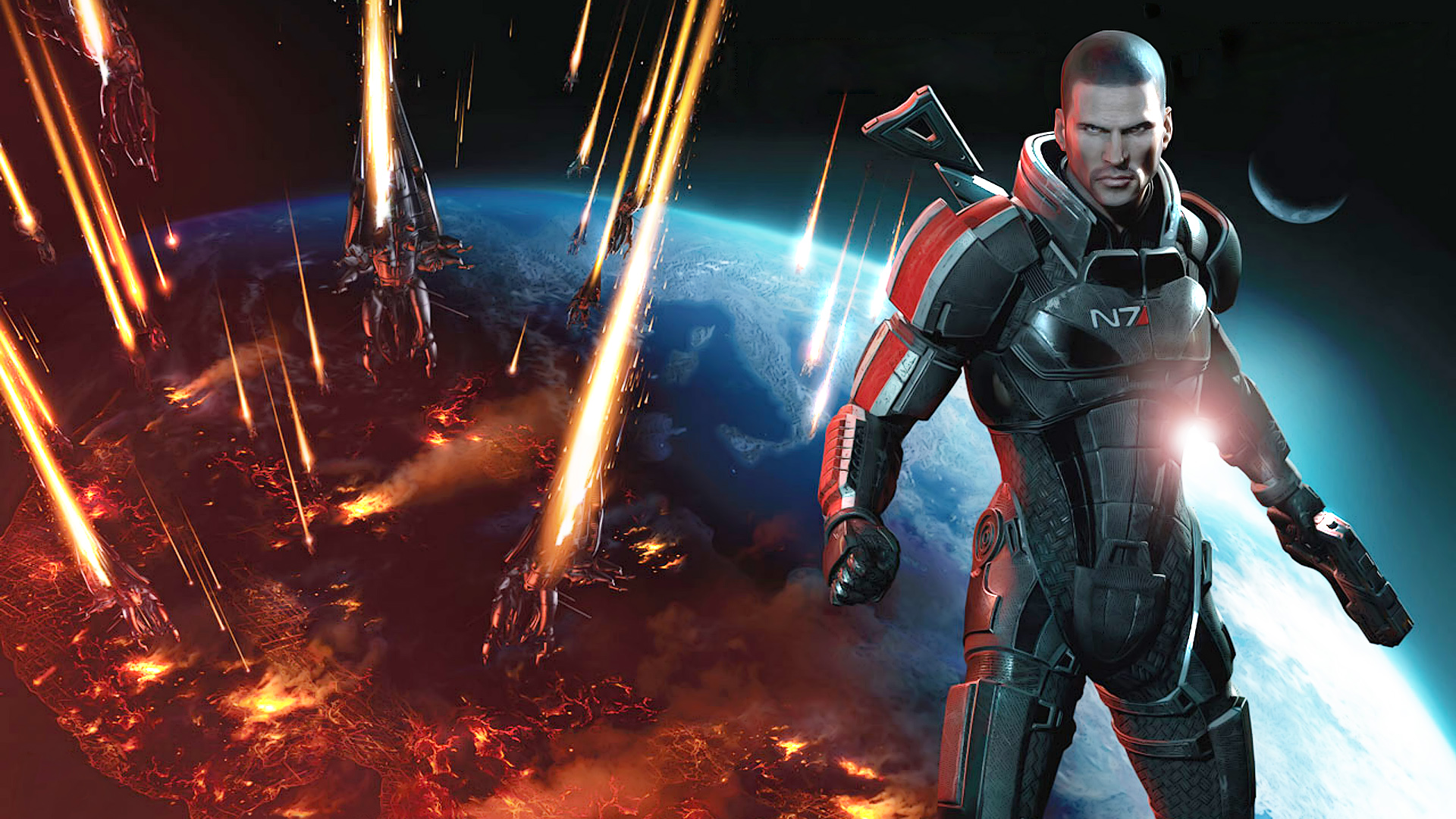 Commander Shepard In Mass Effect 3 Hd Wallpaper