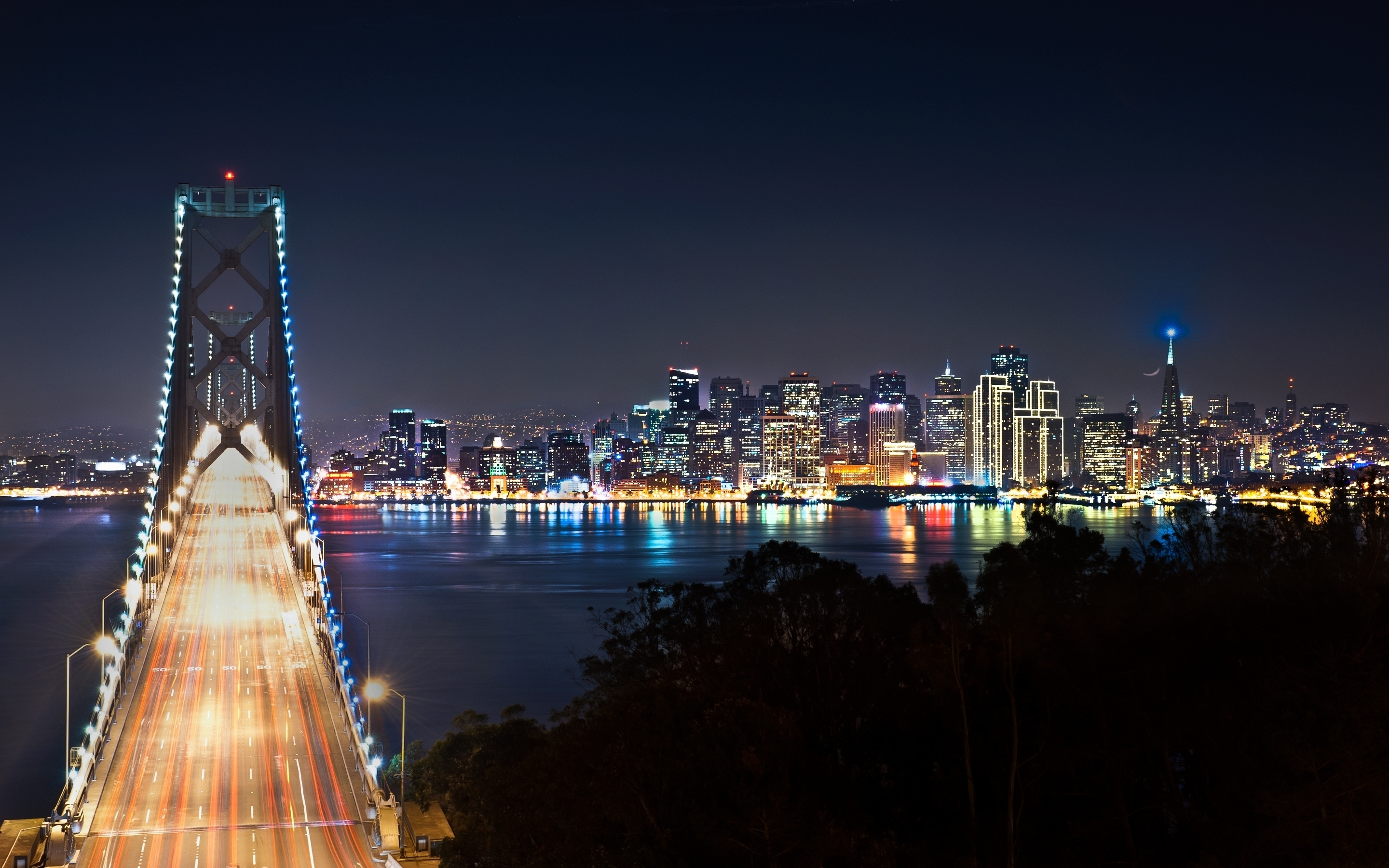 San Francisco at Night 21914 wallpaper