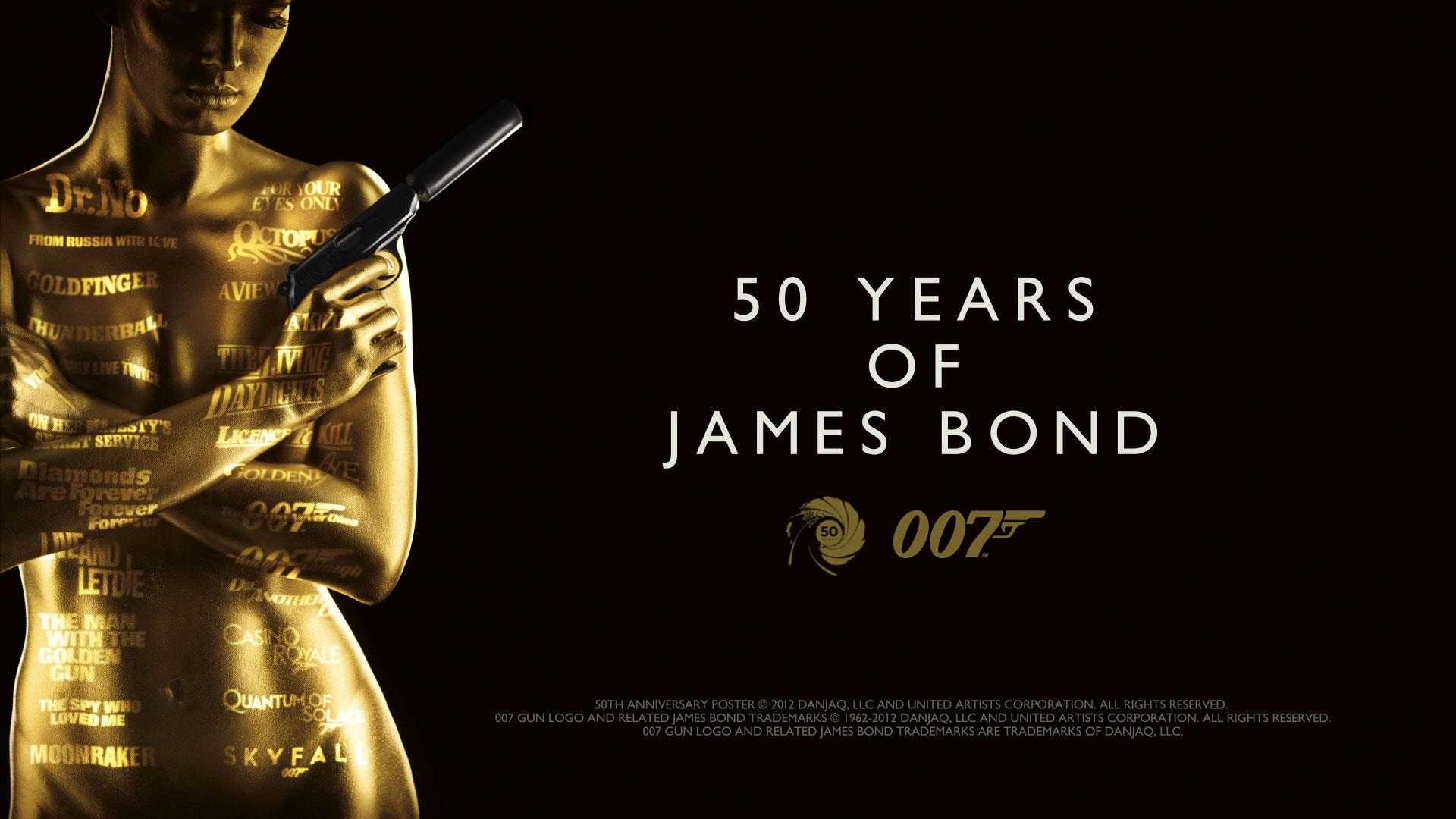 Years of James Bond wallpaper