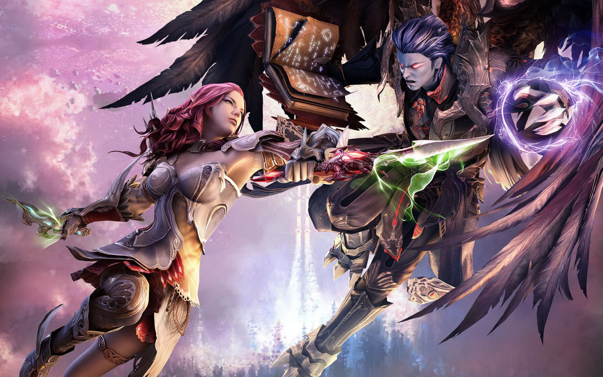 Aion Tower of Eternity wallpaper. Aion Online Widescreen HD