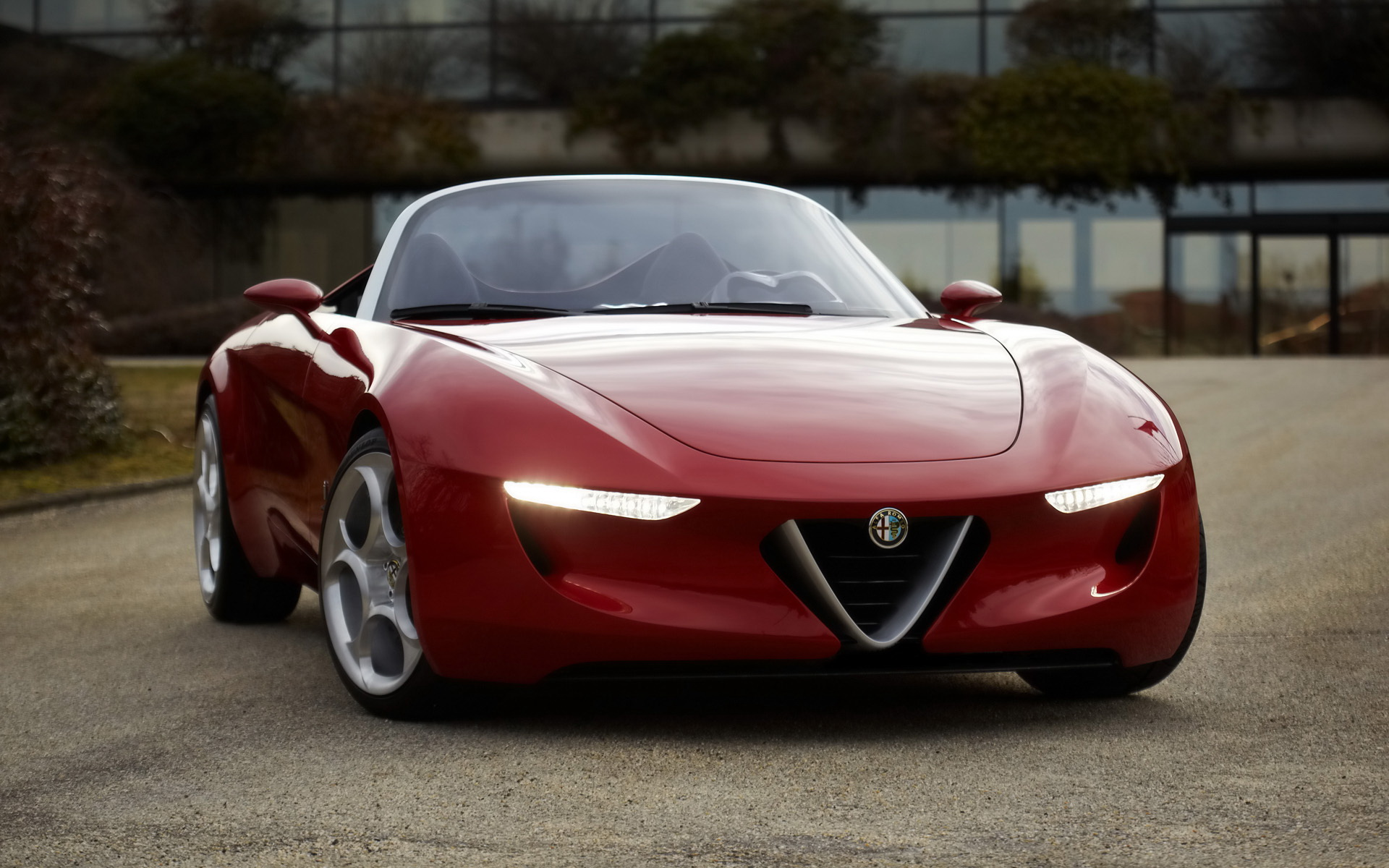 Alfa Romeo Super Car wallpaper