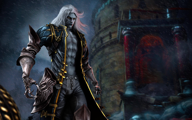 Alucard In Castlevania Lords Of Shadow 2 Hd Wallpaper